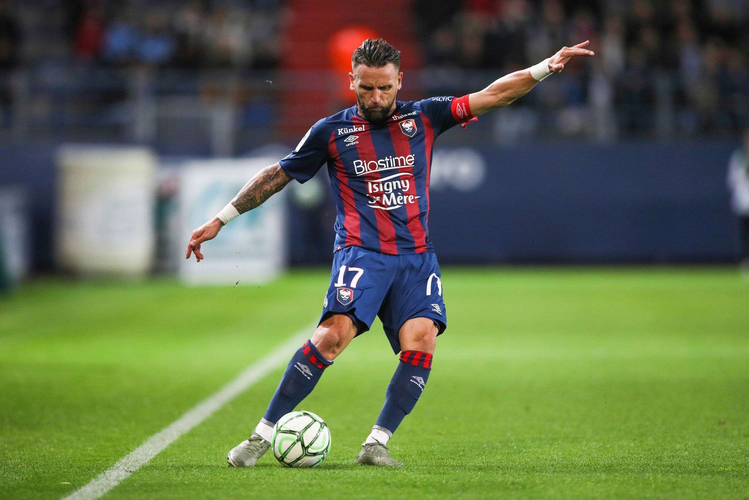 Guingamp – SM Caen : Bammou de retour, Gonçalves toujours absent