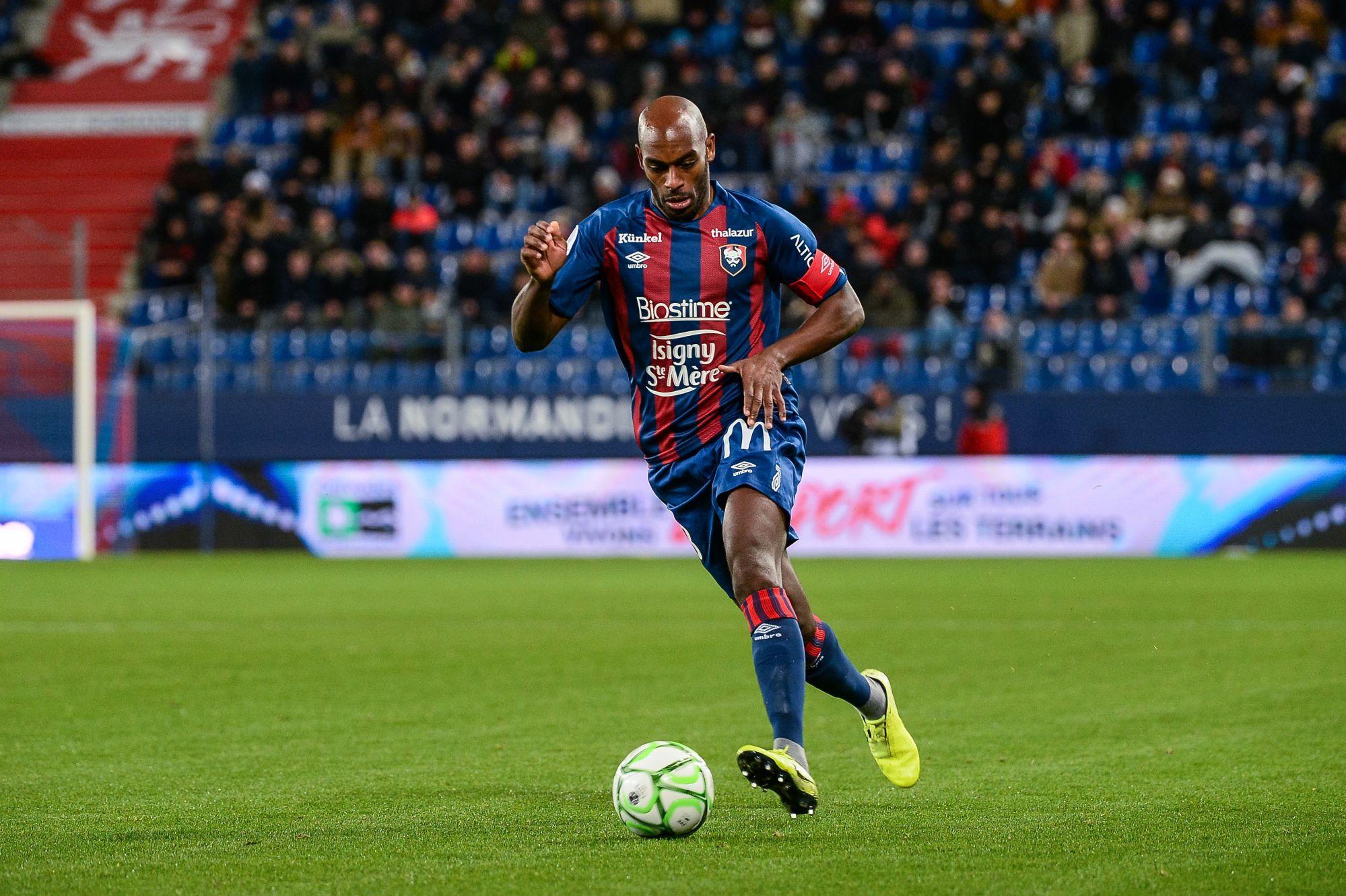 Jonathan Rivierez : « J'ai signé à Malherbe pour remonter en Ligue 1 »