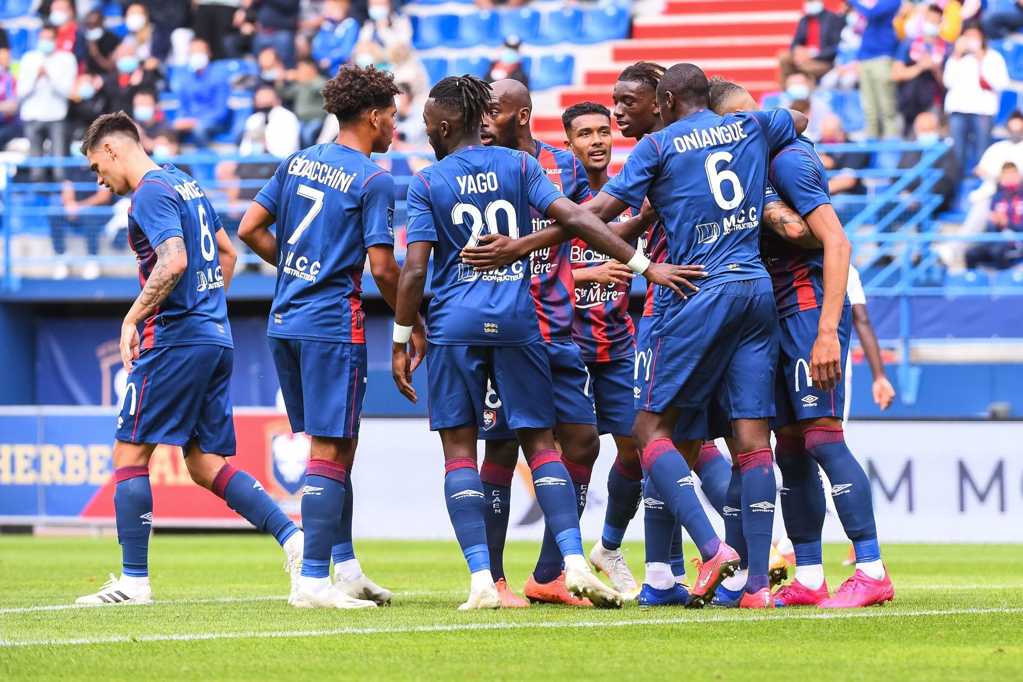 Des retrouvailles enthousiastes et trois points : revivez Caen-Ajaccio en tweets