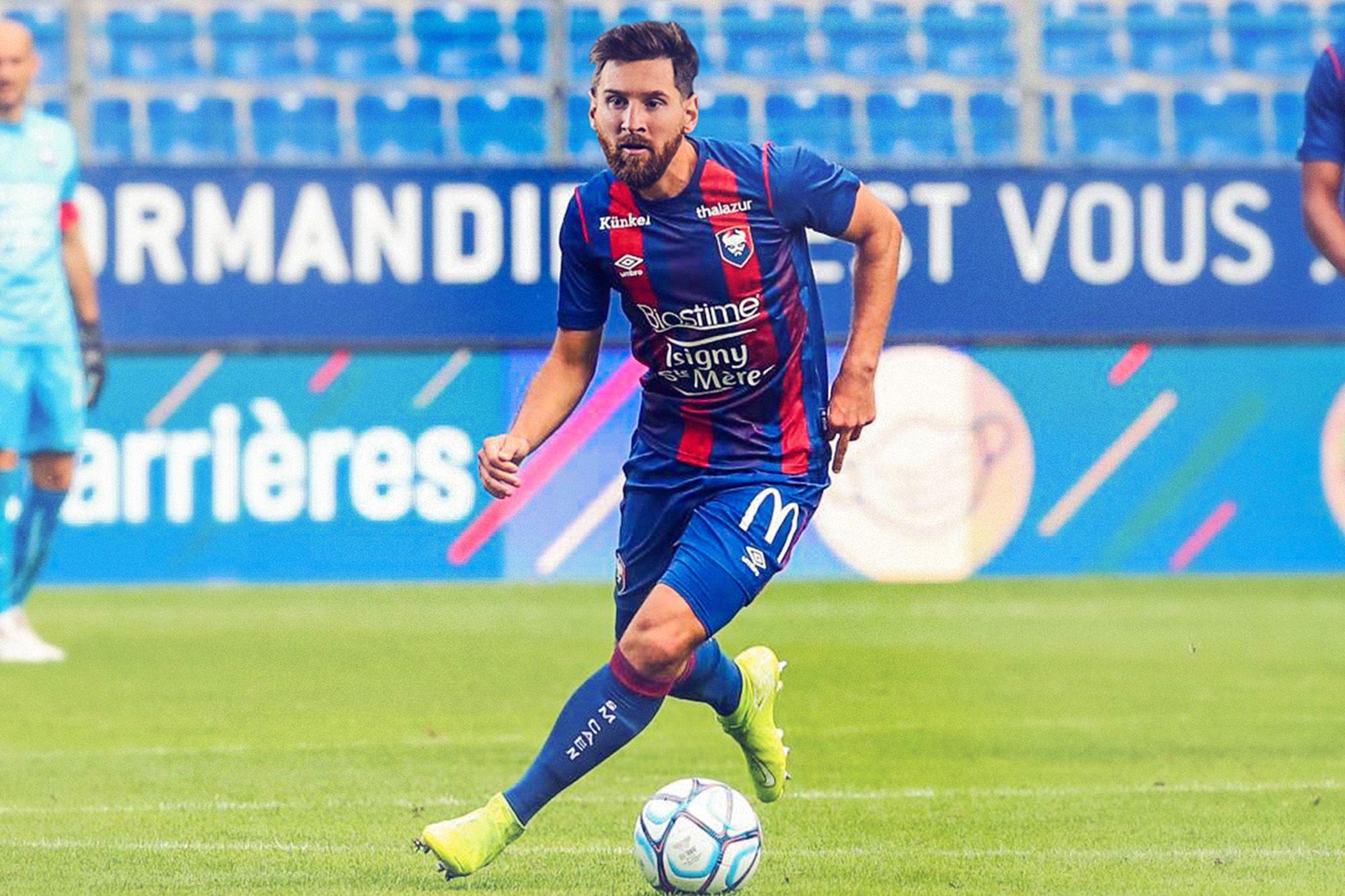 Messi annonce son départ du Barça, les twittos l'envoient… au SM Caen !