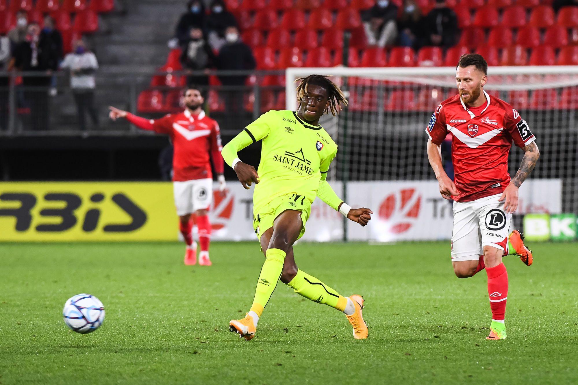 Kélian Nsona est votre homme du match face à Valenciennes