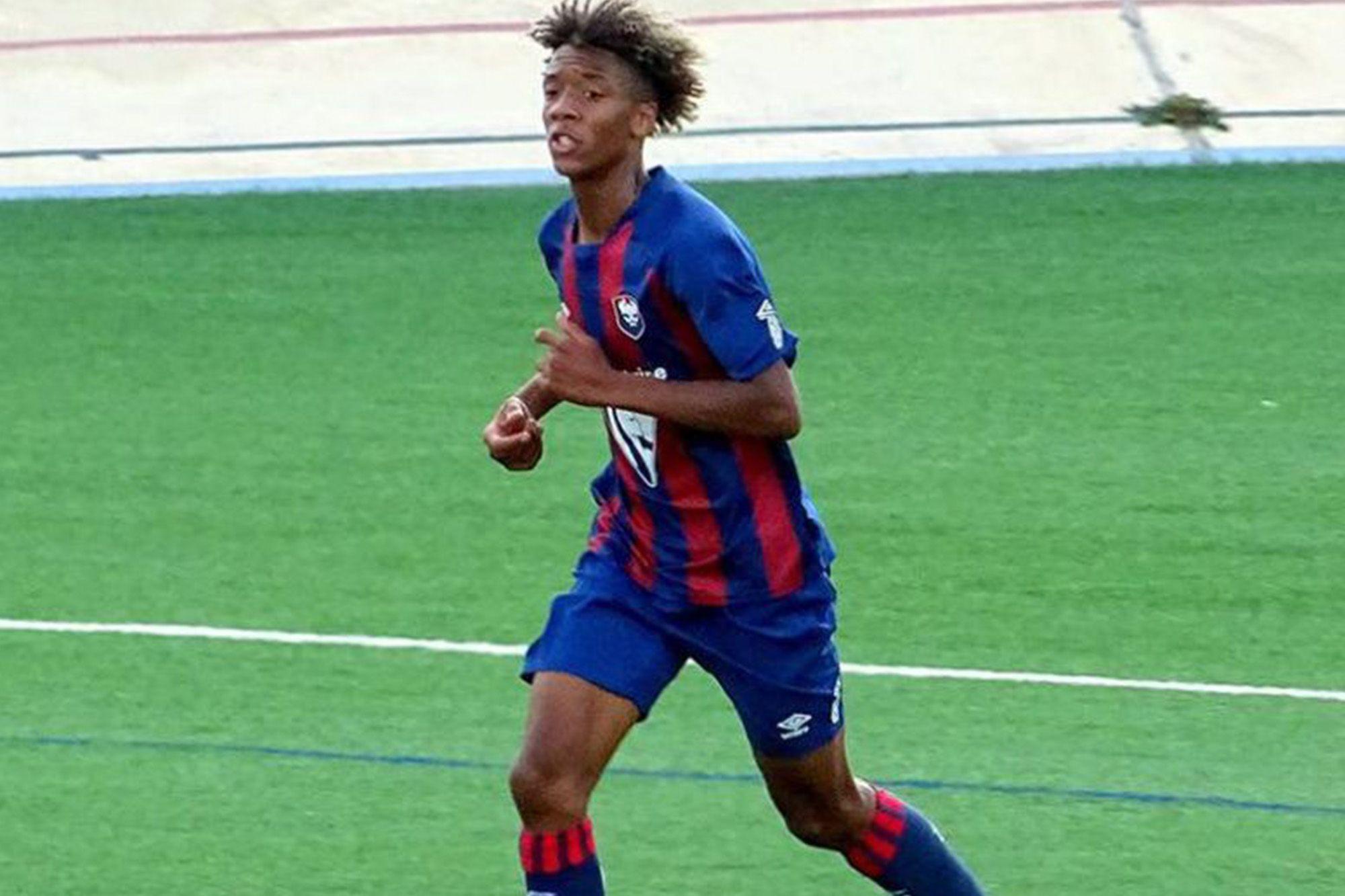 Brahim Traoré sélectionné avec l'équipe de France U17