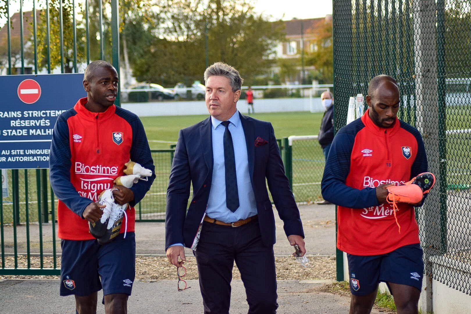 Olivier Pickeu : « Vandermersh, Gioacchini, Bammou et Nsona ont été sollicités »