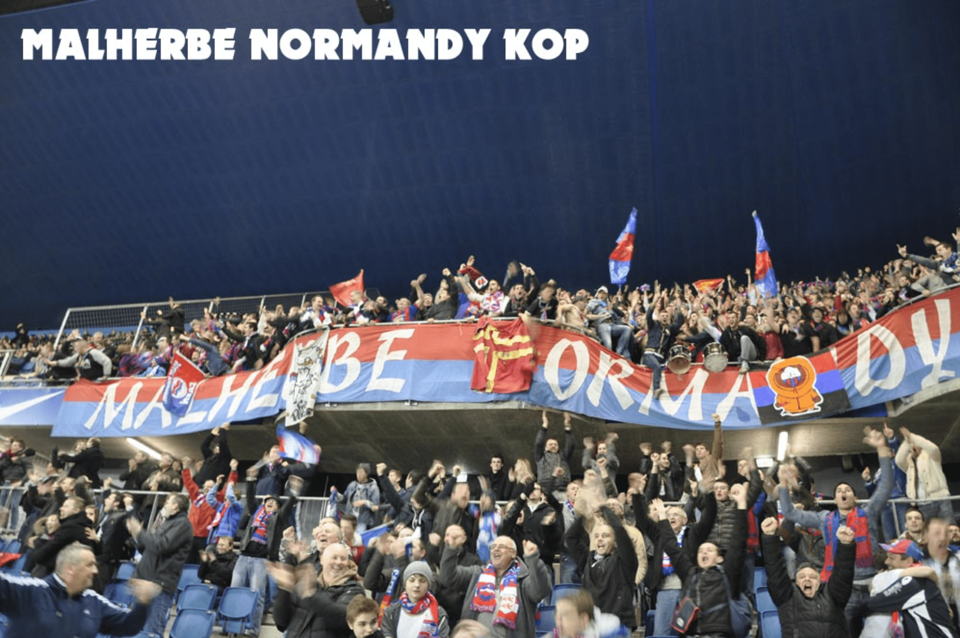 [RÉTRO] Les déplacements des supporters caennais au Havre en photos