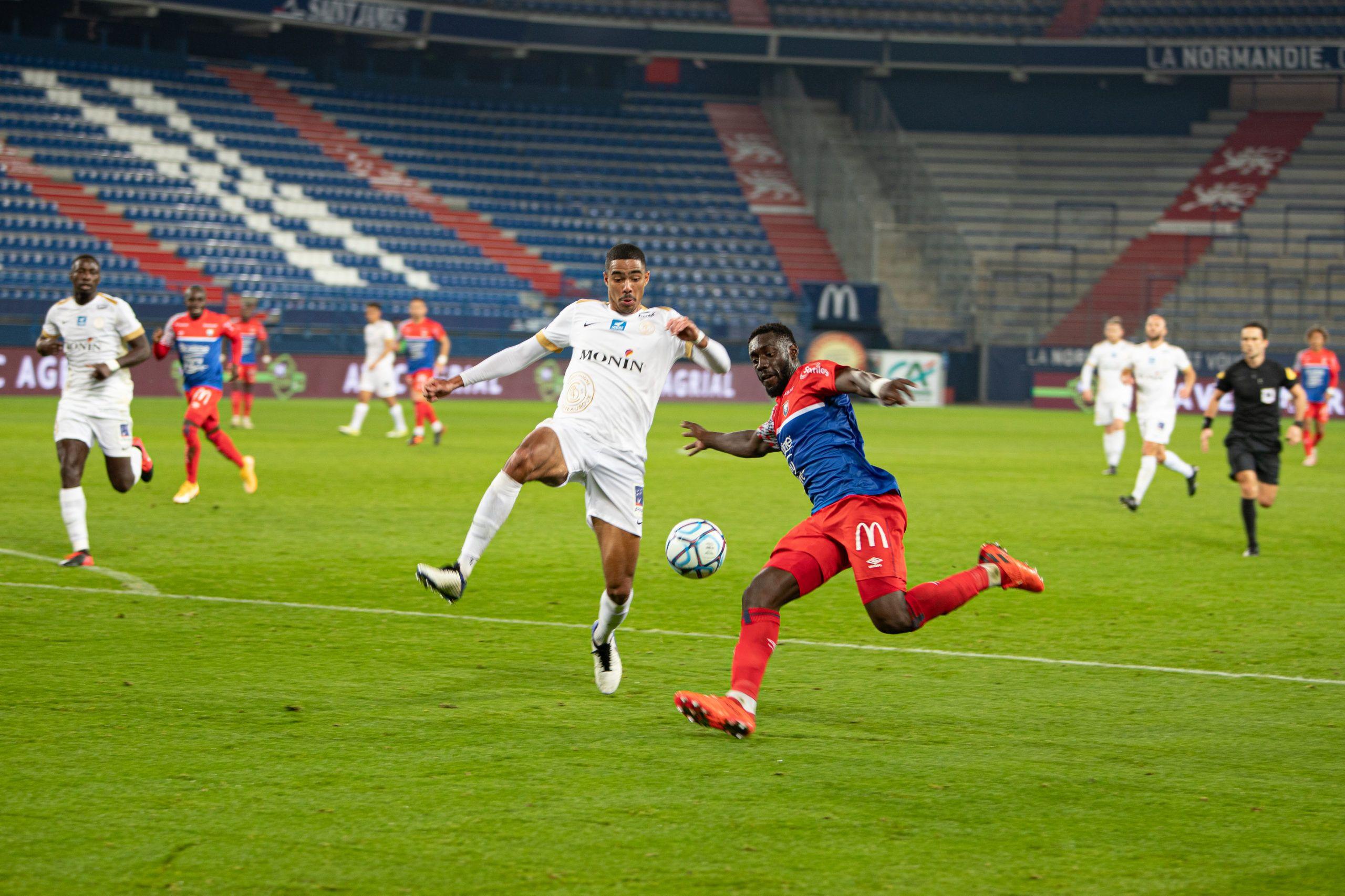 Les notes des joueurs caennais face à Châteauroux (1-1)