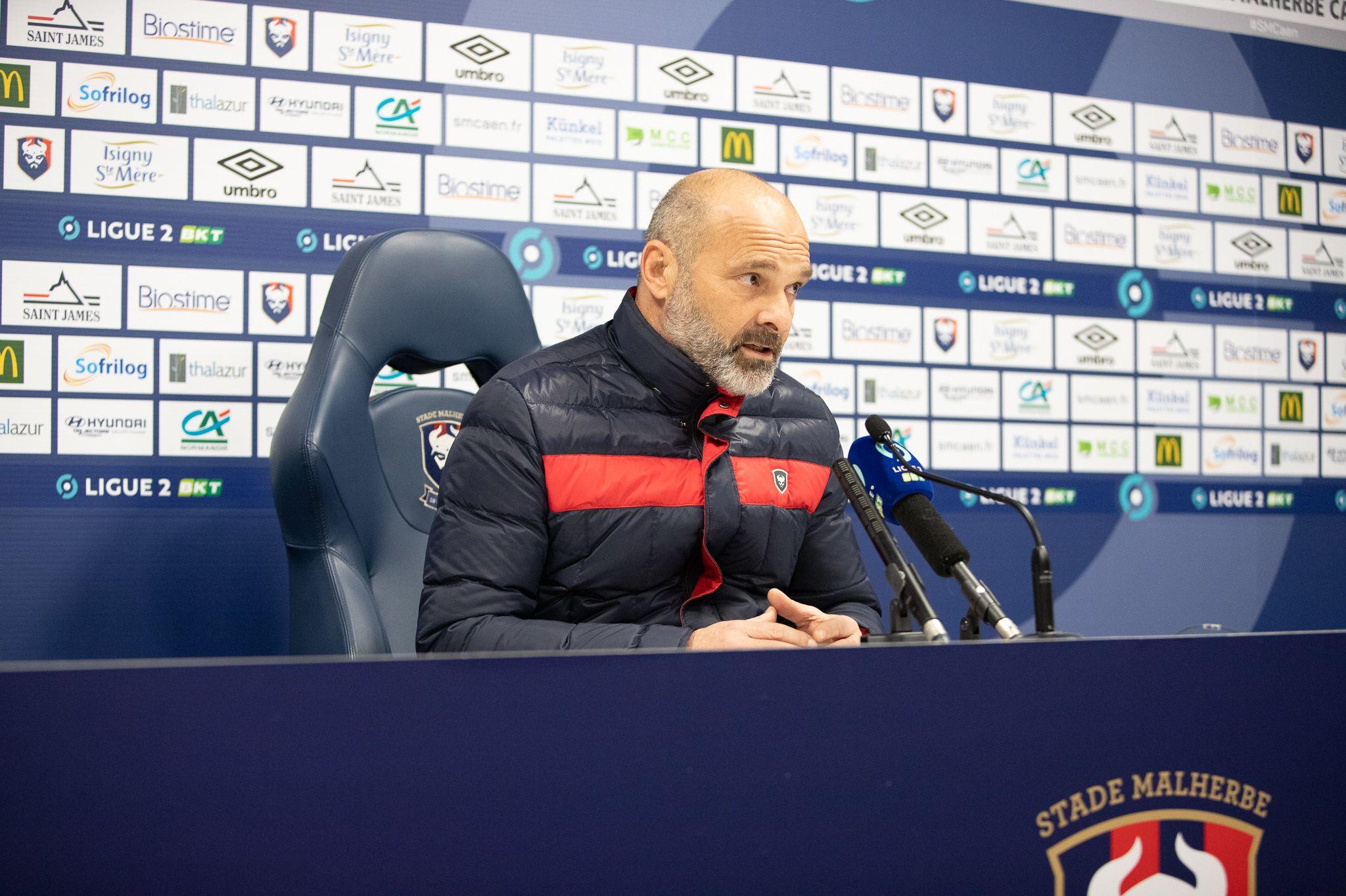 Pascal Dupraz après Caen-Châteauroux (1-1) : « Un sentiment mitigé »