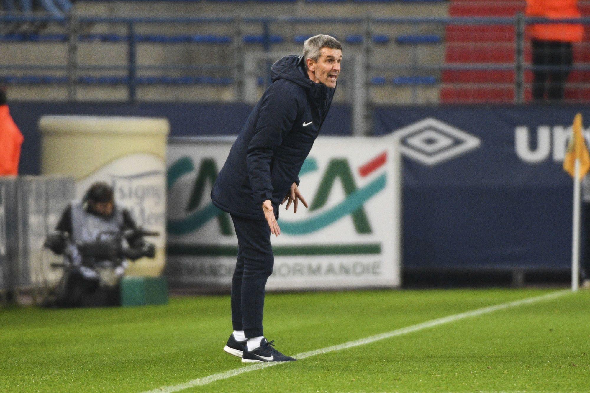 Jean-Louis Garcia (Nancy) : « La défaite contre Caen est impardonnable »