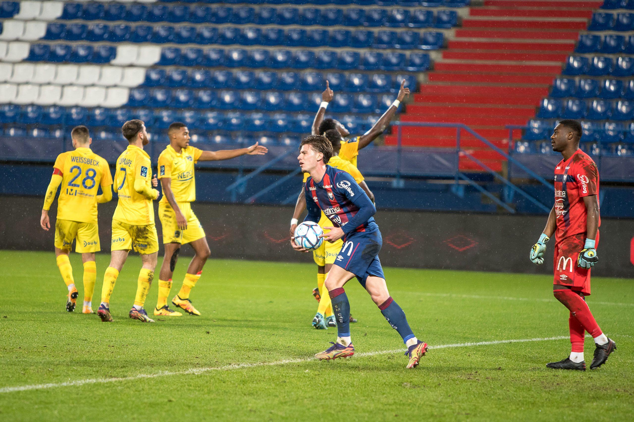 Nos photos de la déroute de Malherbe contre Sochaux (1-4)