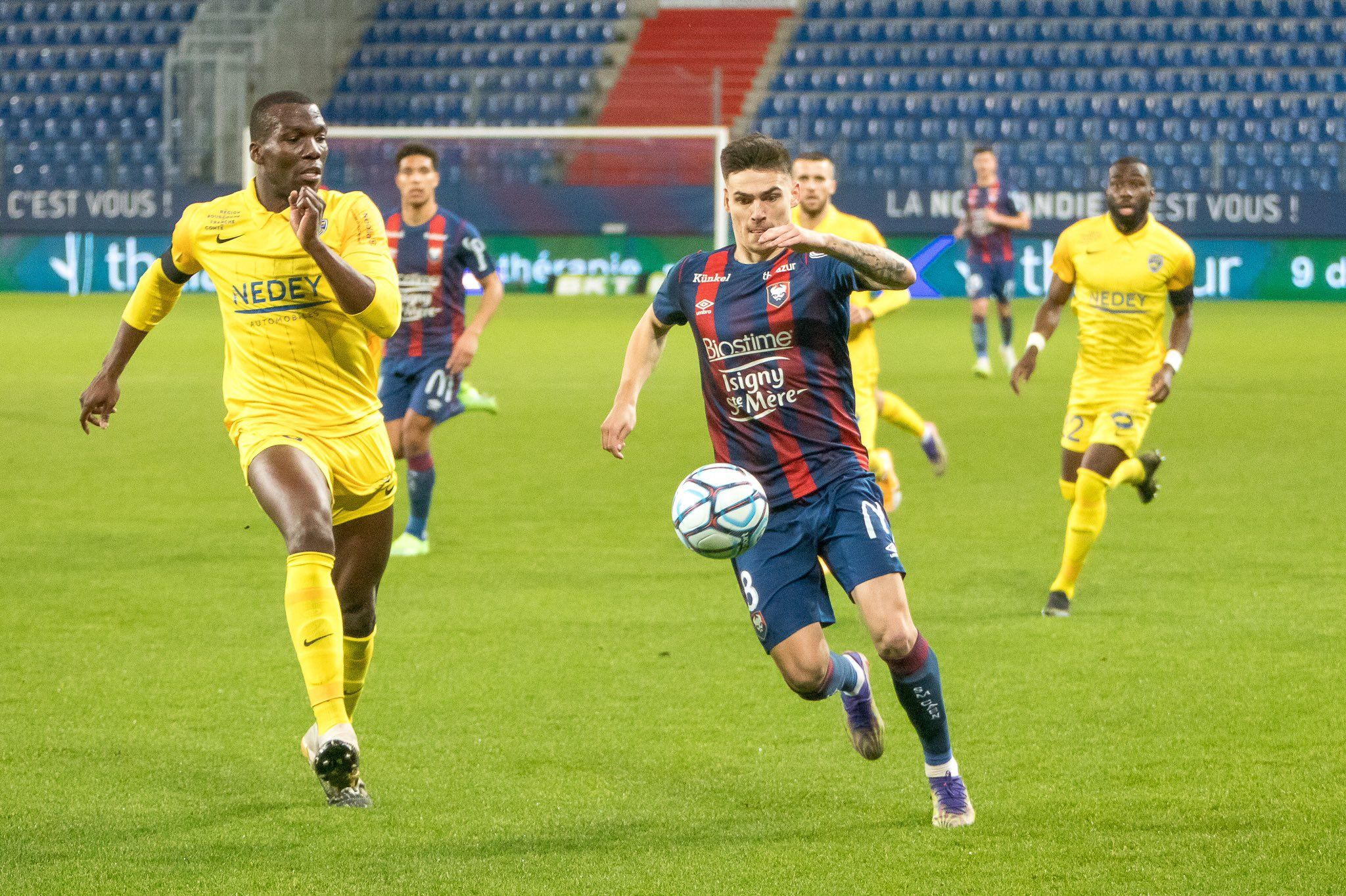 Les notes des joueurs caennais après la claque contre Sochaux (1-4)