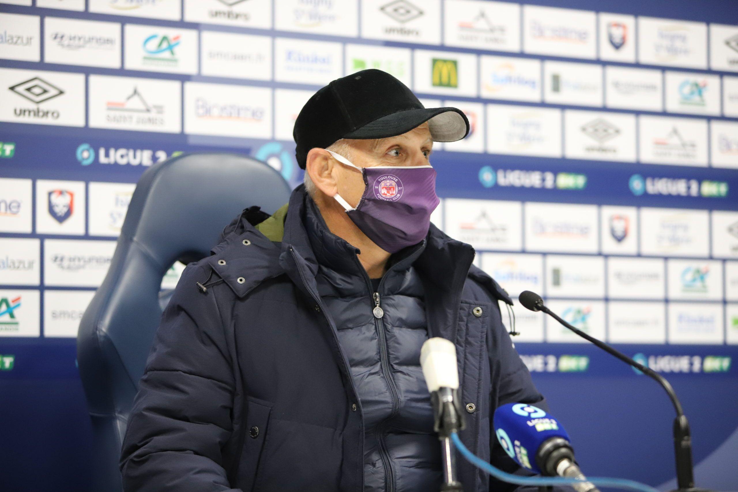 Patrice Garande : « Revenir à Caen ne m'a pas fait grand chose dans ces conditions »