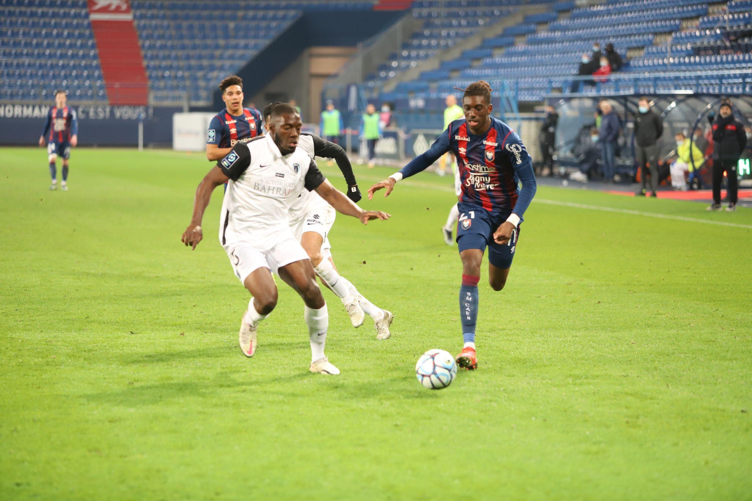 Les notes des joueurs caennais après la défaite contre le Paris FC (0-2)