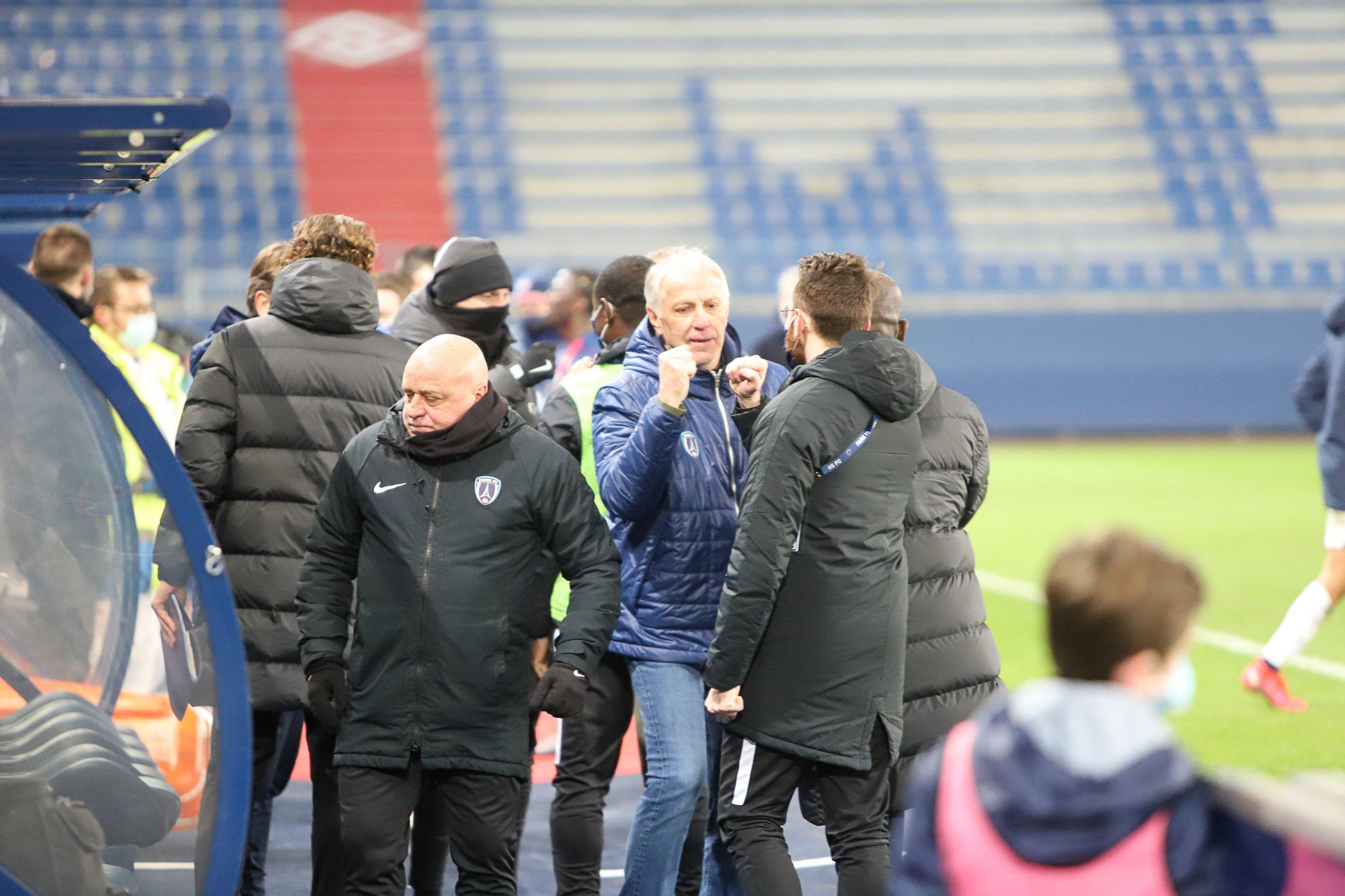 Sanction financière avec sursis pour Malherbe après les incidents face au Paris FC
