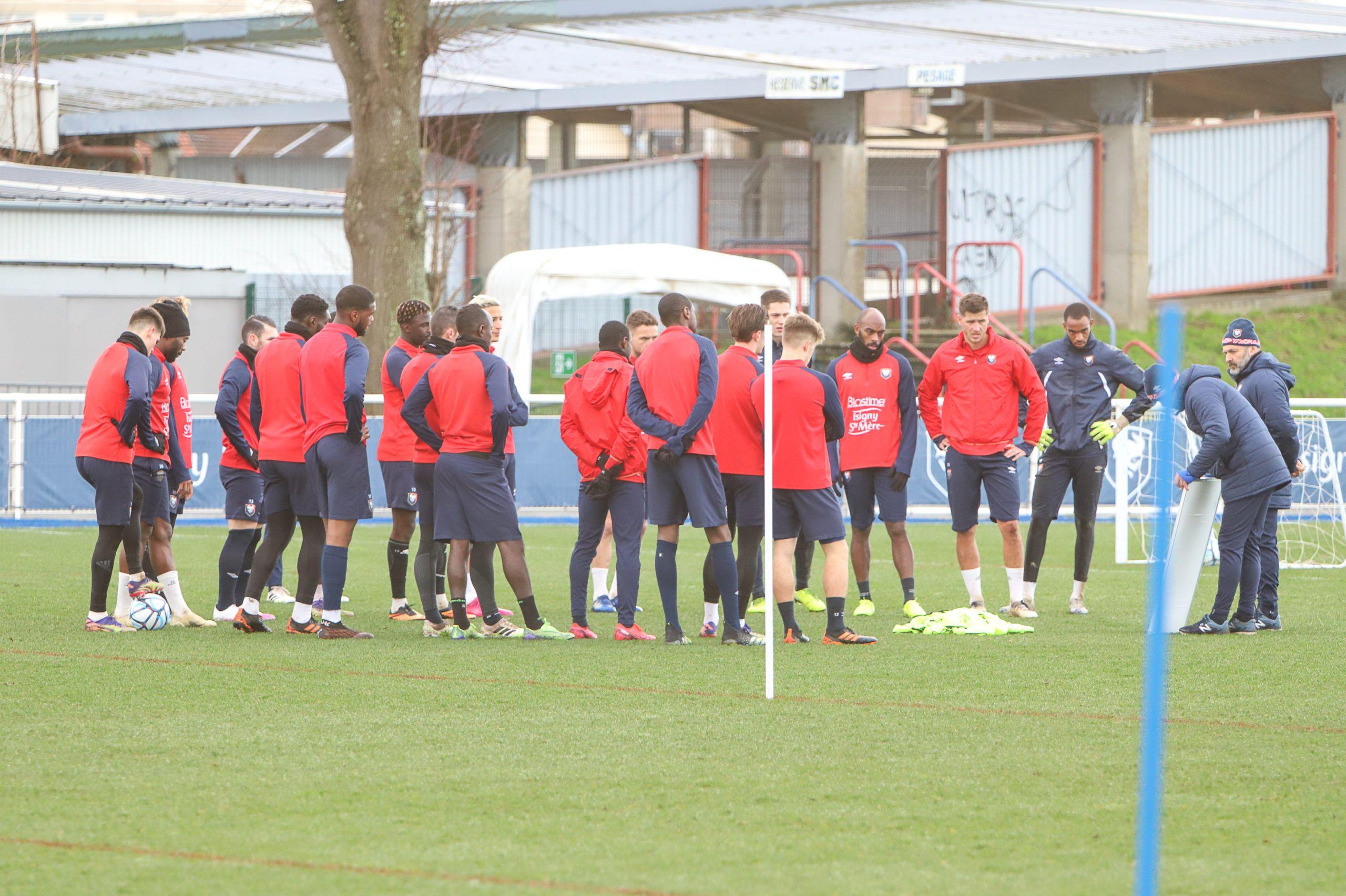 Armougom, Nsona et Jeannot forfaits contre Amiens ce vendredi