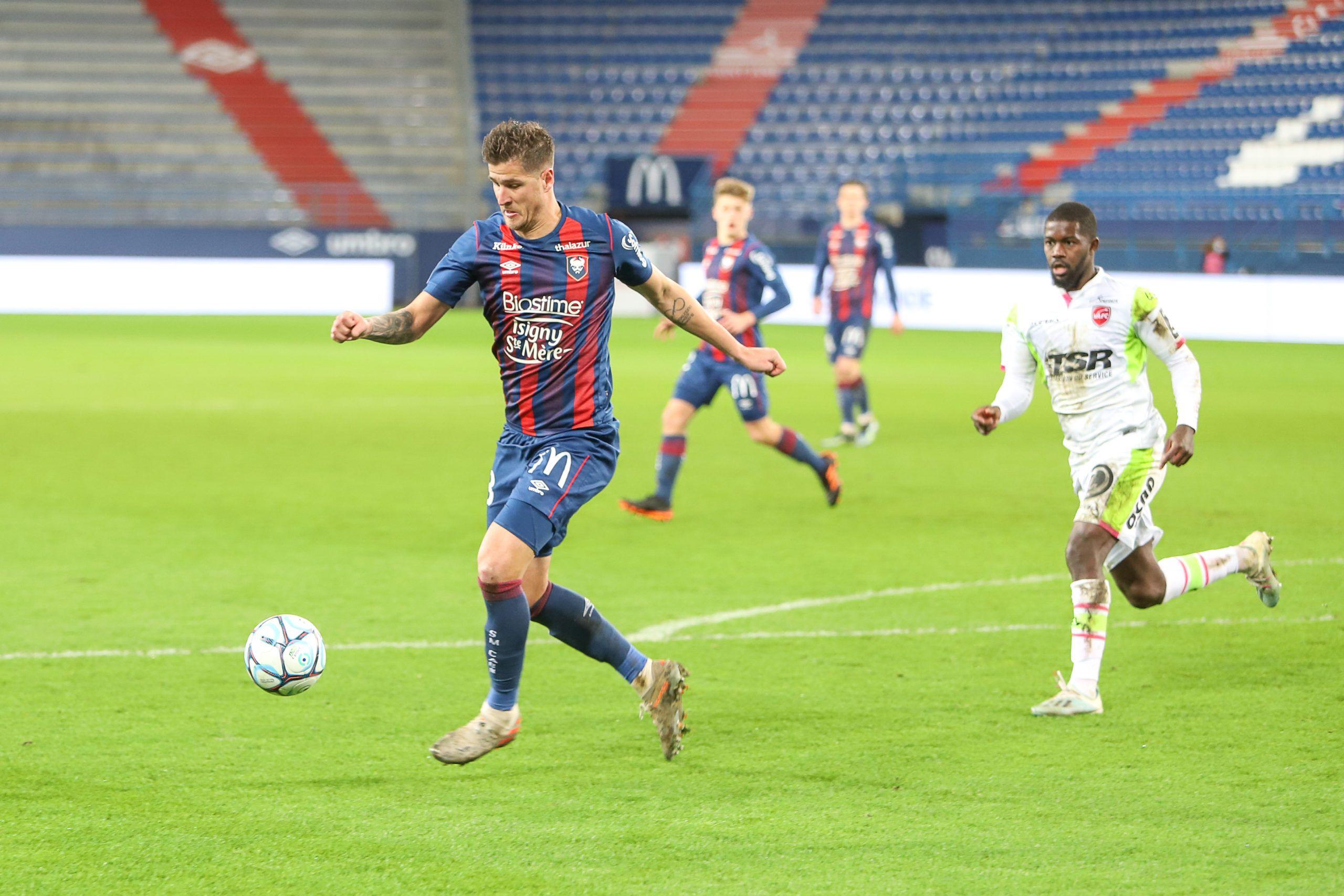 Caen – Paris FC : sans Rivierez, Vandermersch et Weber incertains
