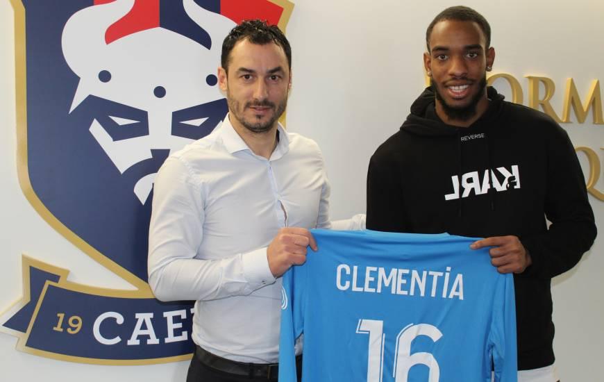 [Officiel] Yannis Clementia s'engage au Stade Malherbe jusqu'à la fin de saison