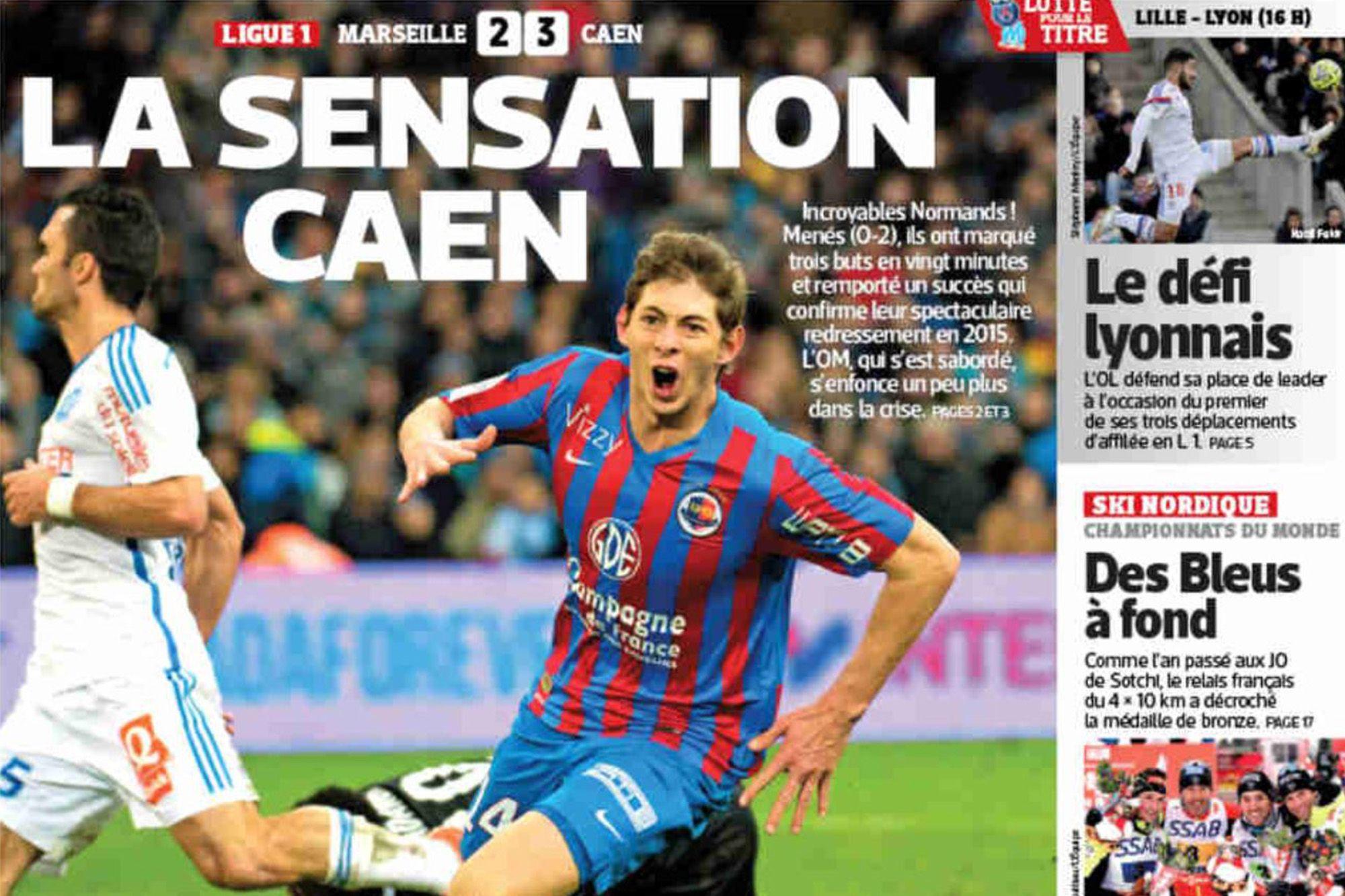 Il y a six ans, Malherbe faisait la Une de L'Équipe après sa victoire à Marseille !