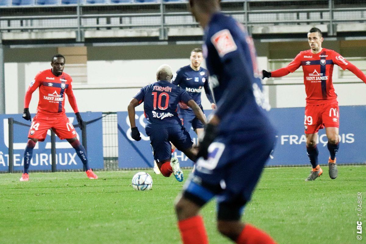 Les notes des joueurs caennais après le match nul sur la pelouse de Châteauroux (2-2)
