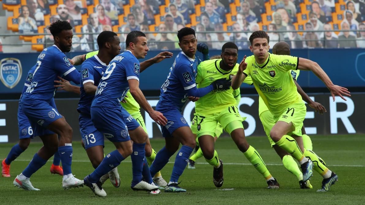 Les notes des joueurs caennais après la défaite contre Troyes (1-0)
