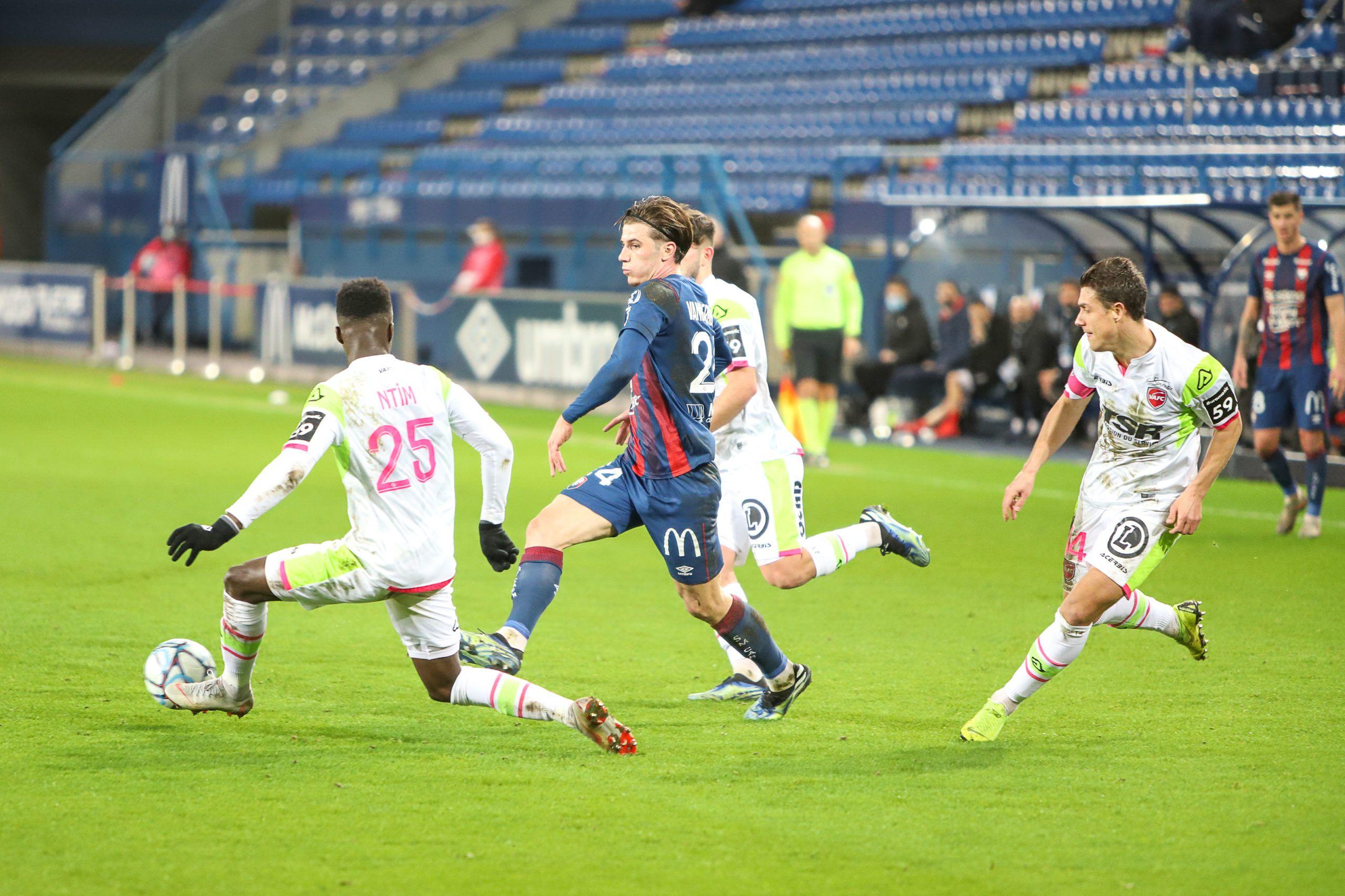Sans Beka Beka et Lepenant contre Auxerre, fin de saison pour Vandermersch