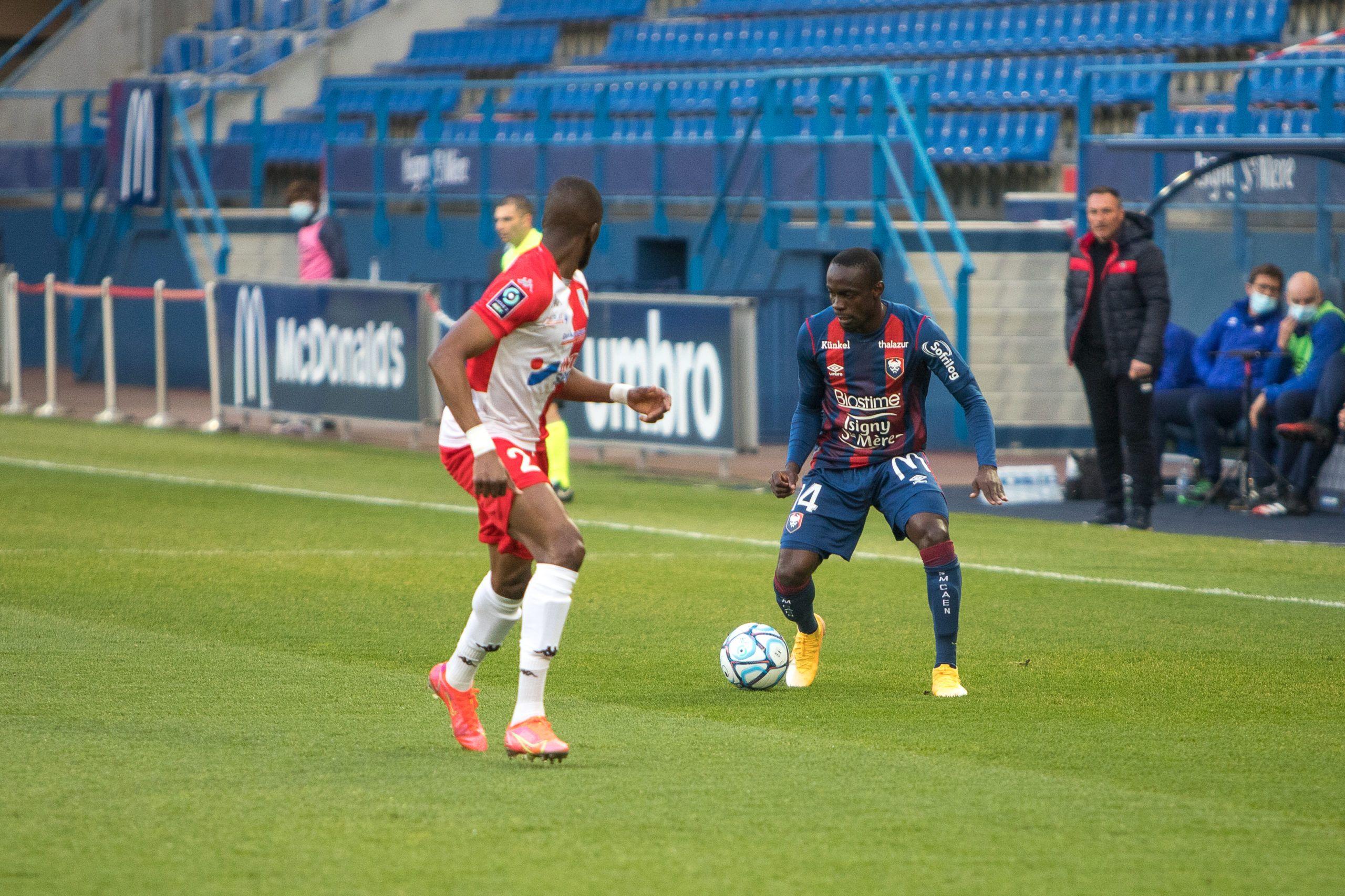 Les notes des joueurs caennais après le match nul contre Dunkerque (1-1)