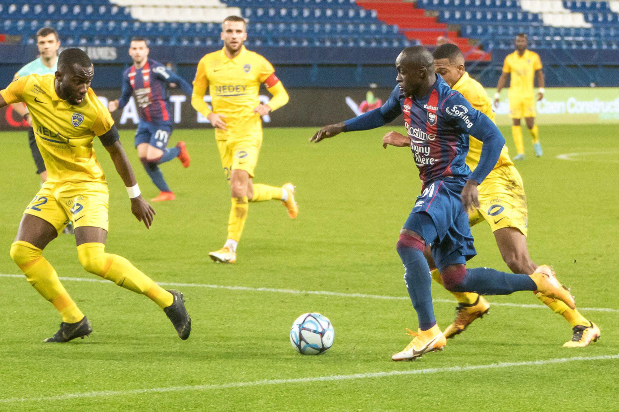 Les notes des joueurs caennais après la défaite à Sochaux (1-0)