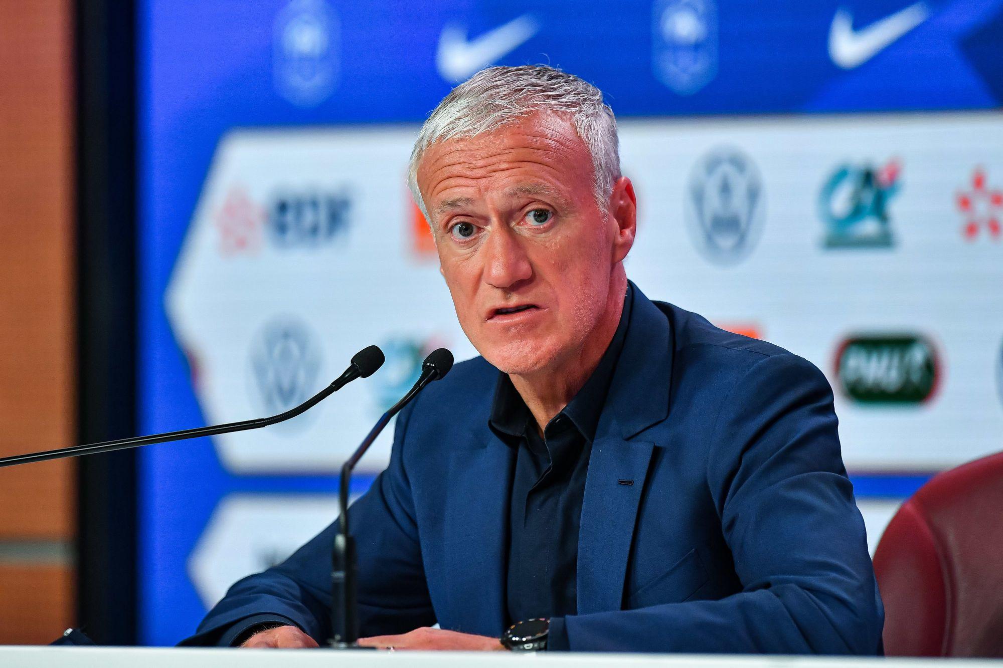 Didier Deschamps : « Beaucoup de respect pour ce que Stéphane Moulin a fait »