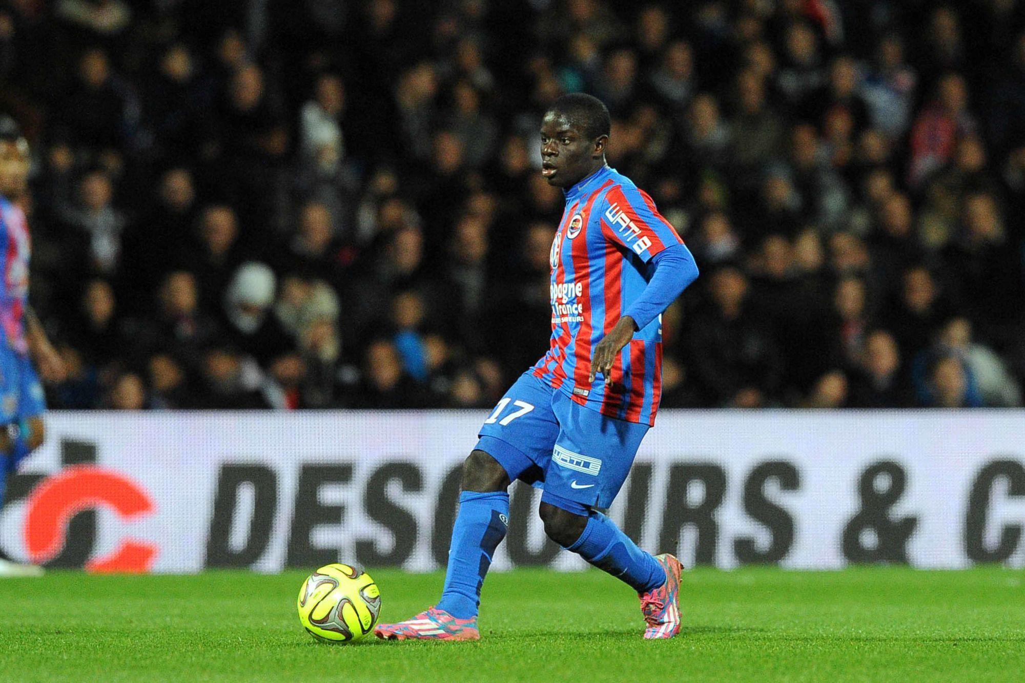 L'incroyable parcours de Ngolo Kanté depuis son arrivée au SM Caen