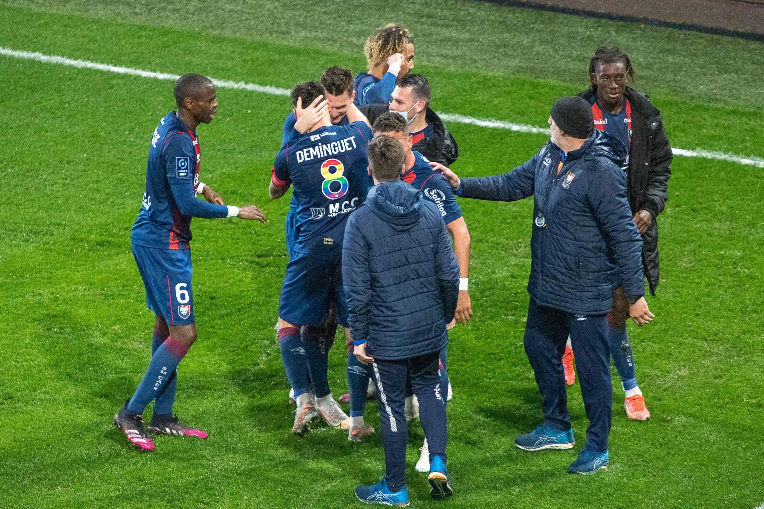 Le SM Caen maintenu en Ligue 2 au terme d'une dernière soirée fantastique !