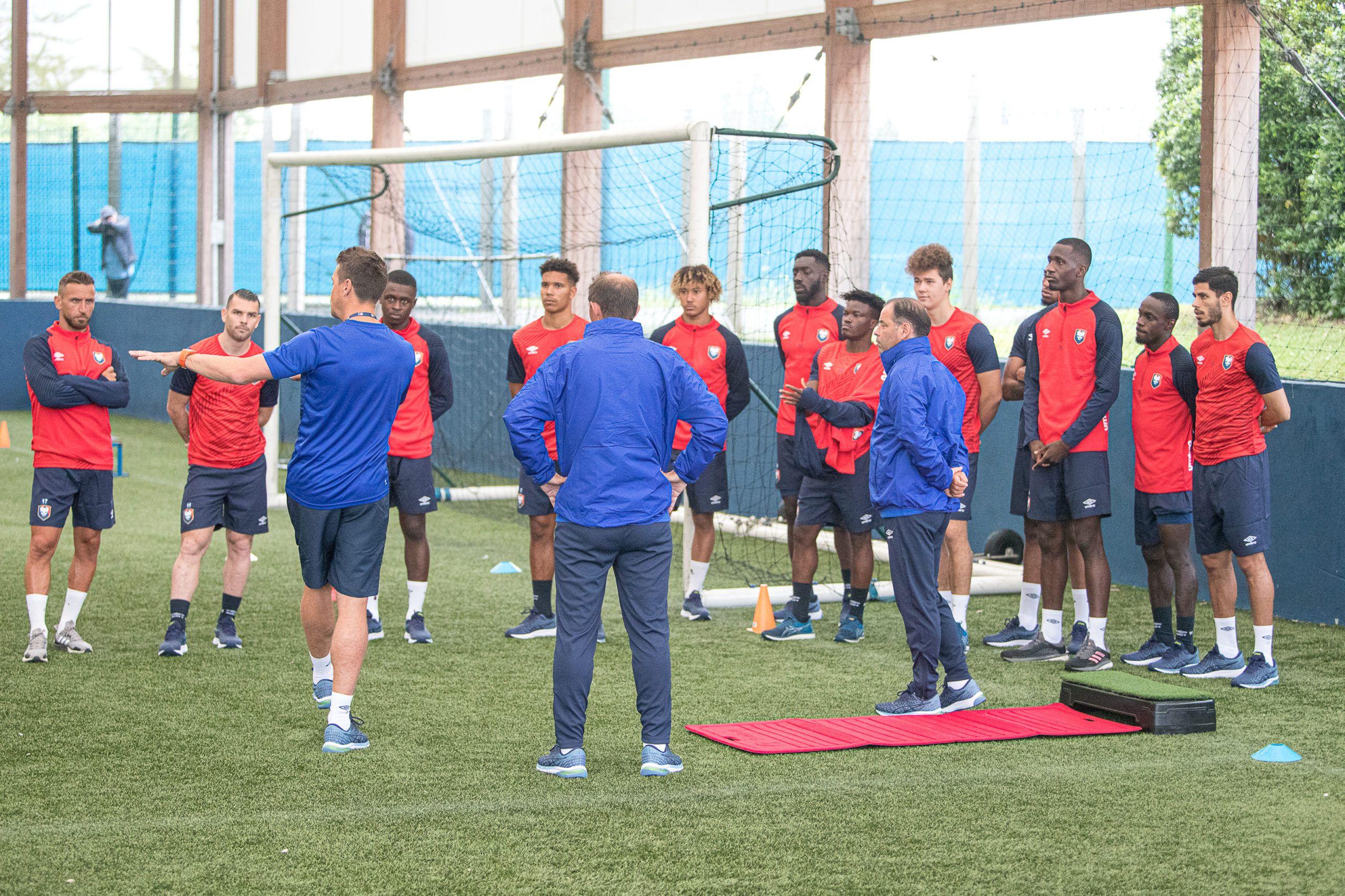 26 joueurs, deux séances : les photos de la reprise de l'entraînement au SM Caen