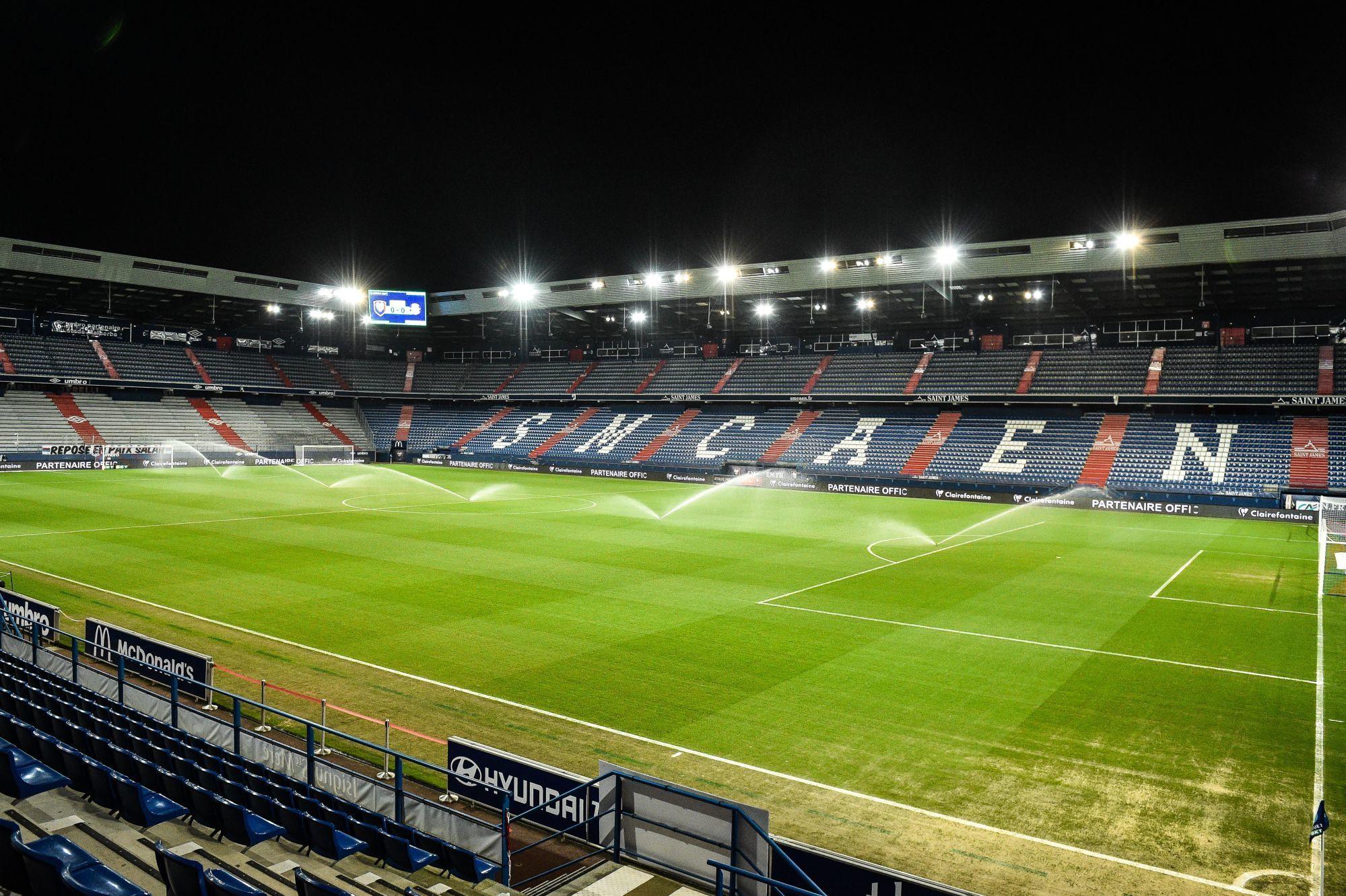 Quevilly Rouen Métropole jouera ses premiers matchs à domicile au stade d'Ornano