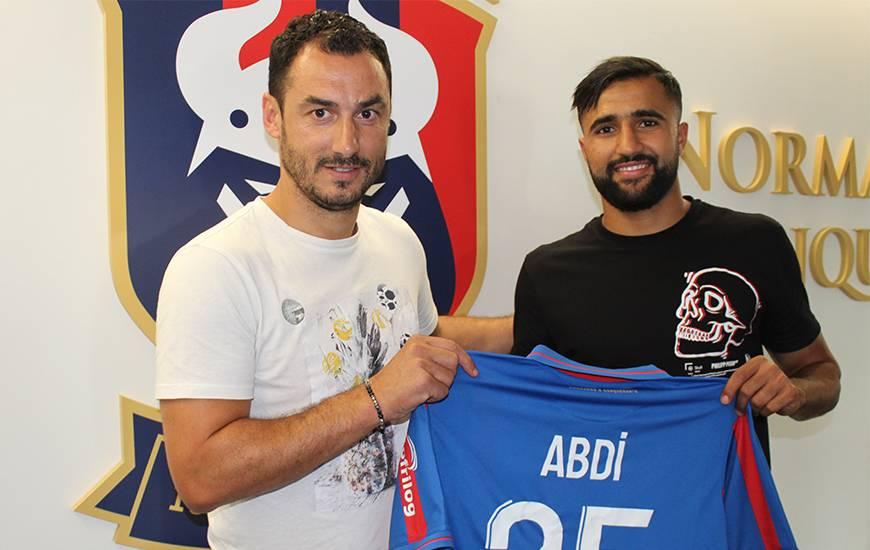 [Officiel] Ali Abdi s'engage avec le SM Caen jusqu'en 2023