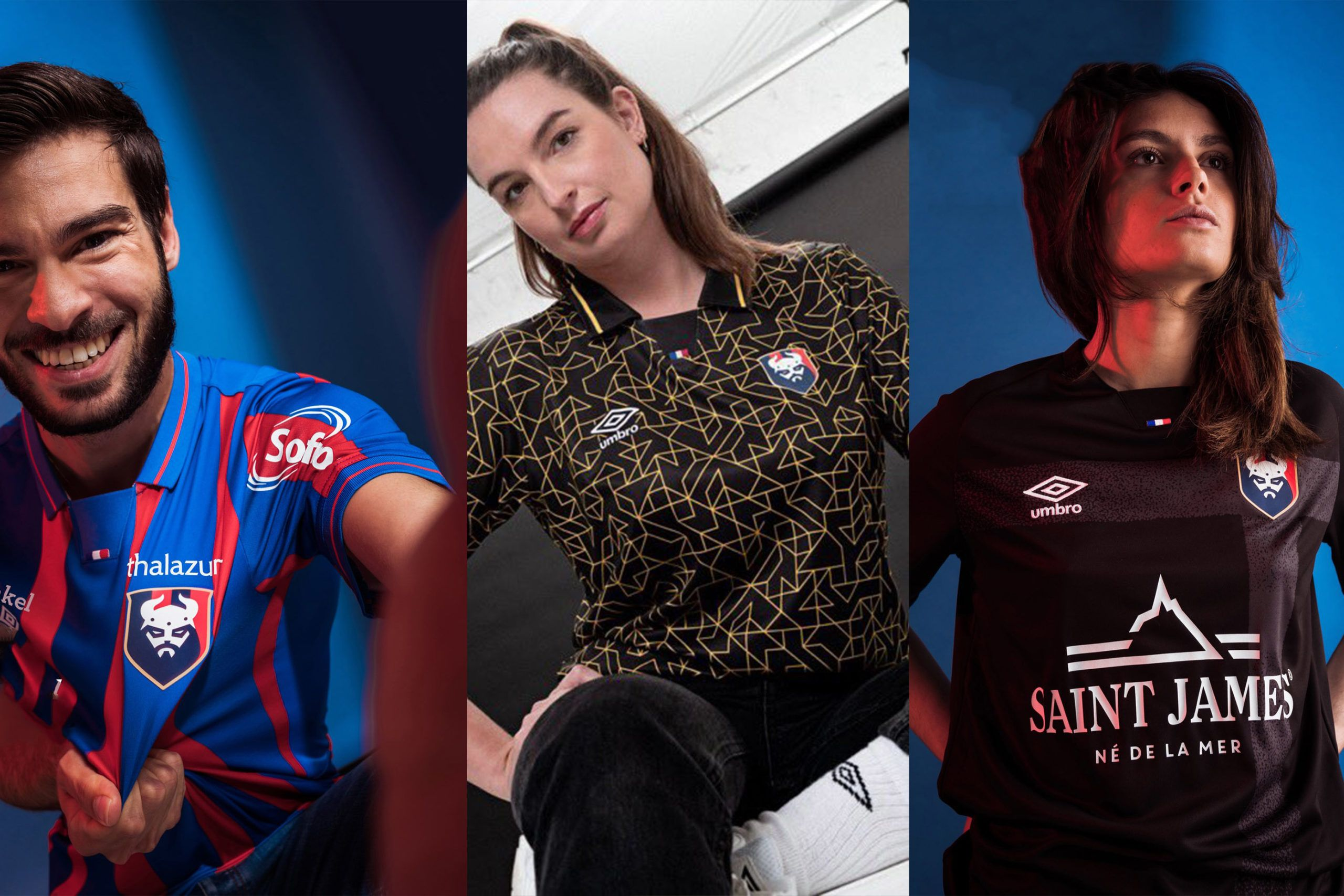 Notez les nouveaux maillots caennais pour la saison 2021-2022