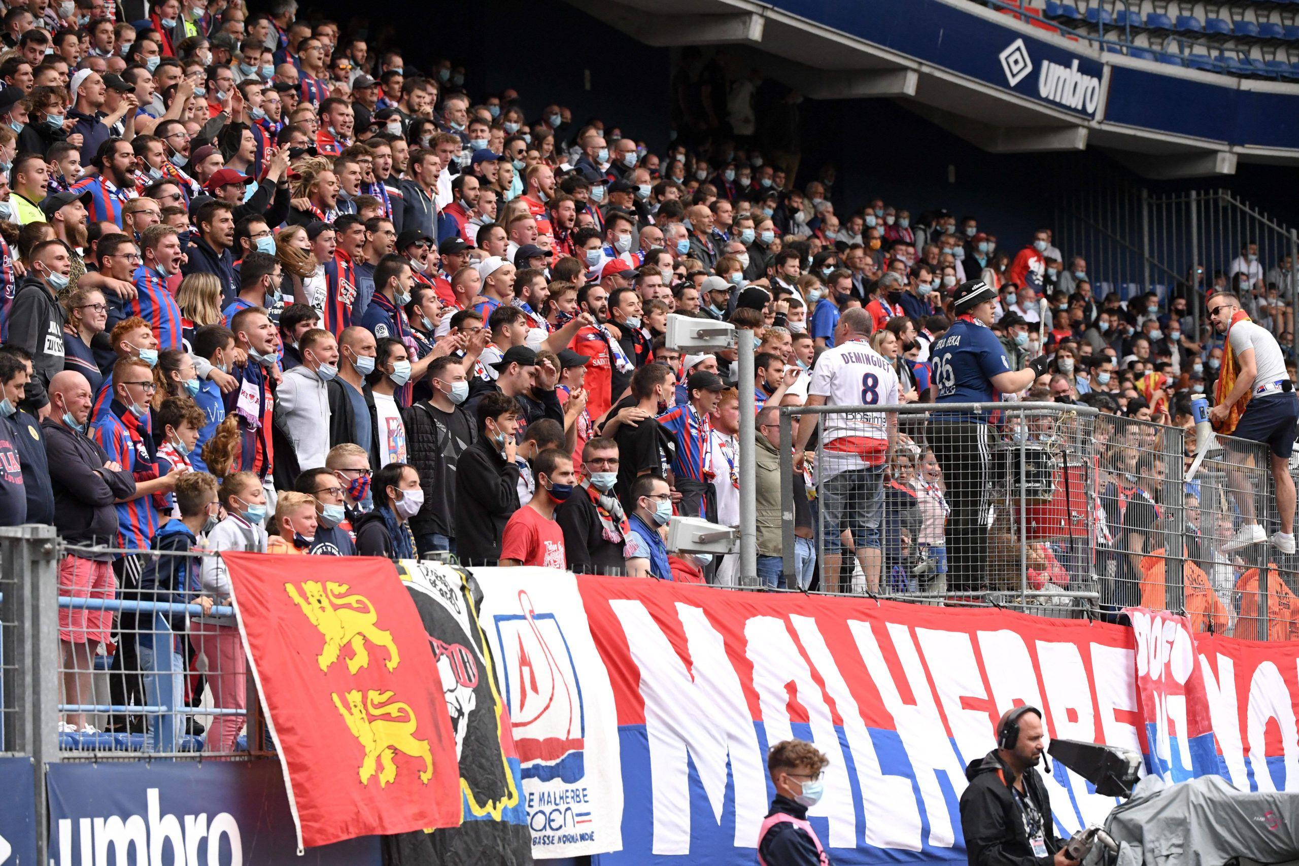 Meilleure affluence de Ligue 2 pour le match entre Caen et Sochaux
