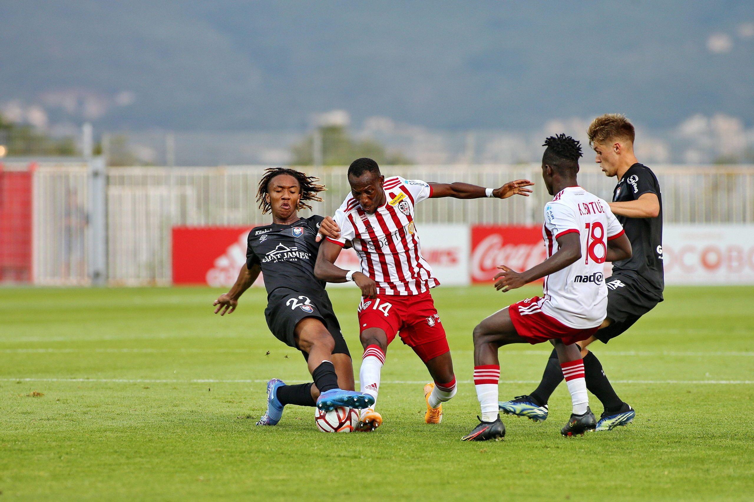 Soirée cauchemardesque pour le SM Caen sur la pelouse d'Ajaccio (2-0)