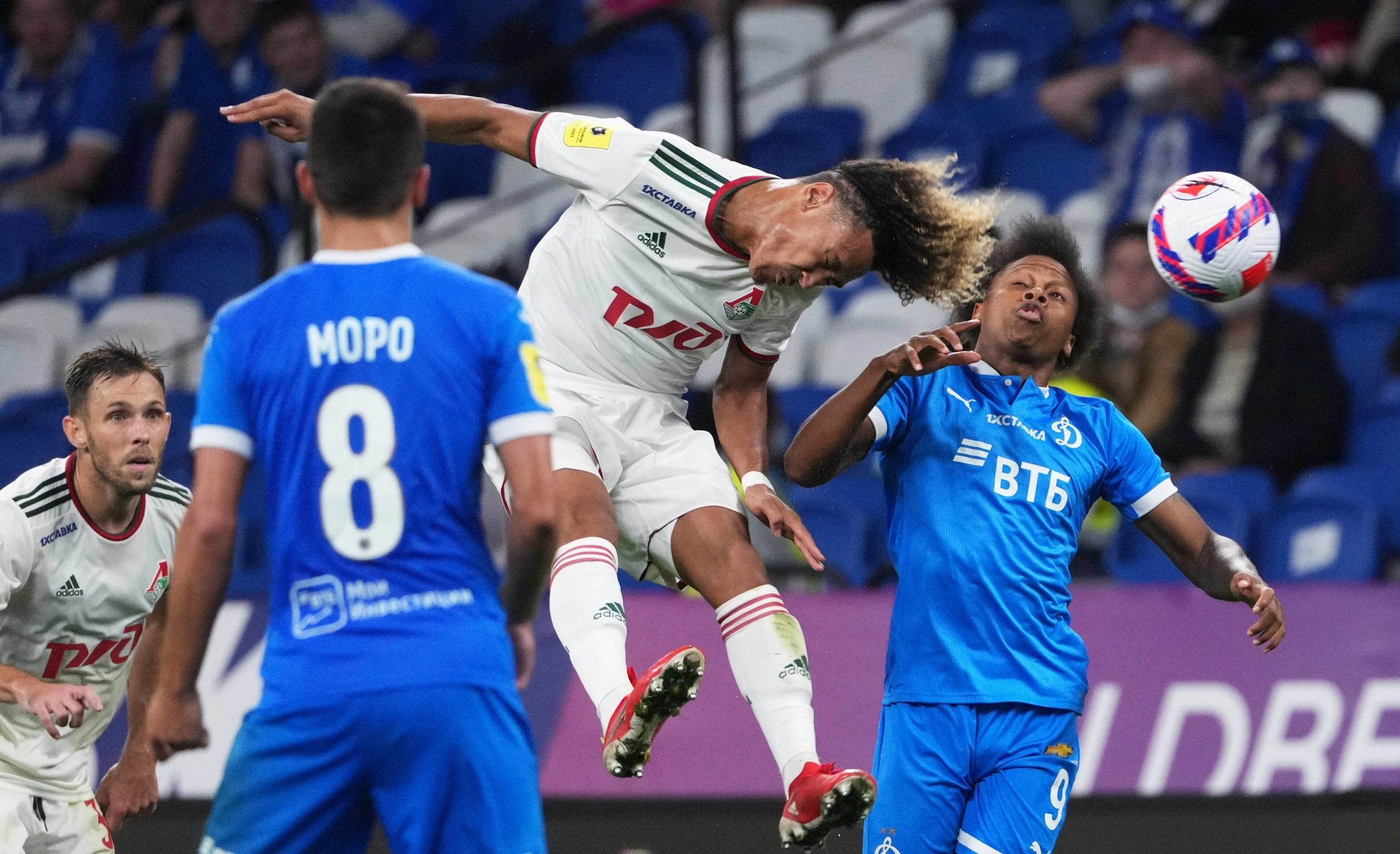 [Photos] Les premières minutes de Beka Beka avec le Lokomotiv Moscou
