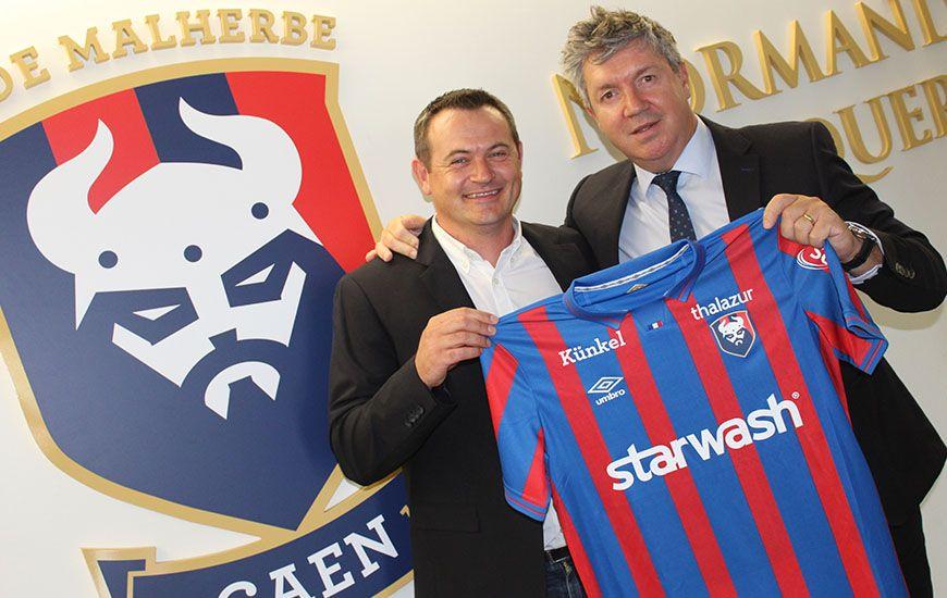 [Sondage] Donnez votre avis sur le nouveau sponsor maillot du SM Caen