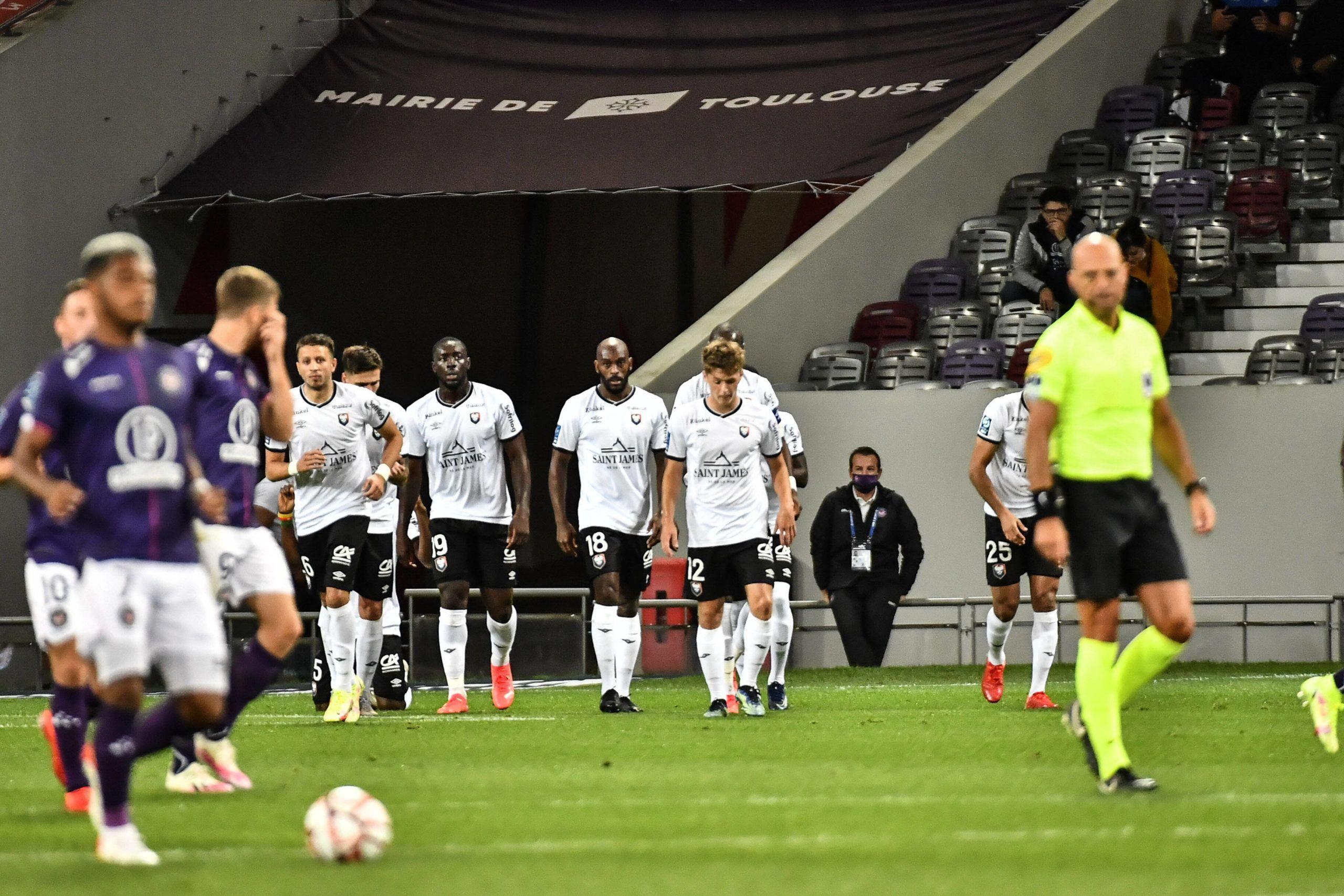 Le Stade Malherbe première équipe à battre Toulouse cette saison (2-3)