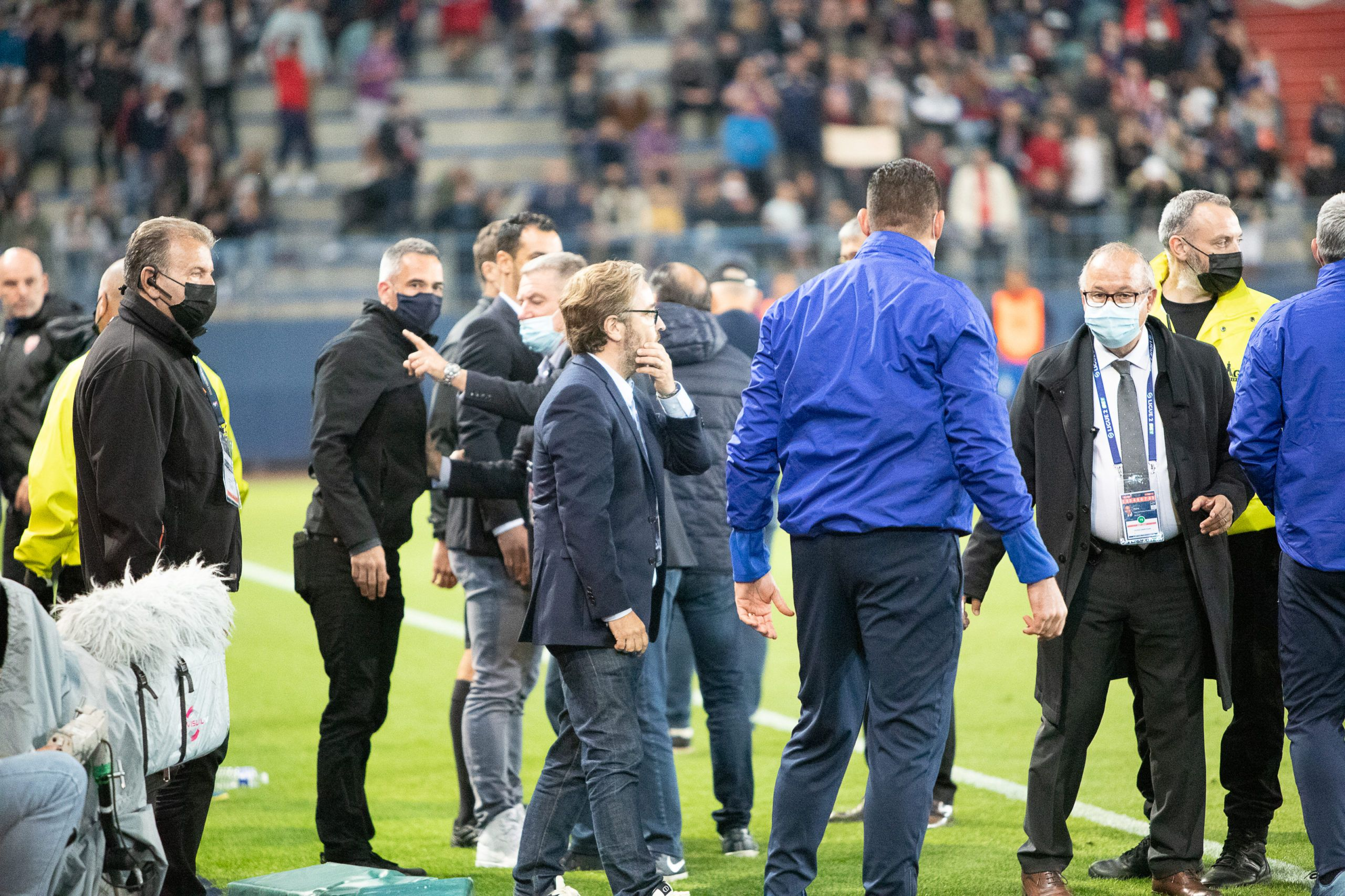 Pierre-Antoine Capton réclame l'instauration de la VAR en Ligue 2