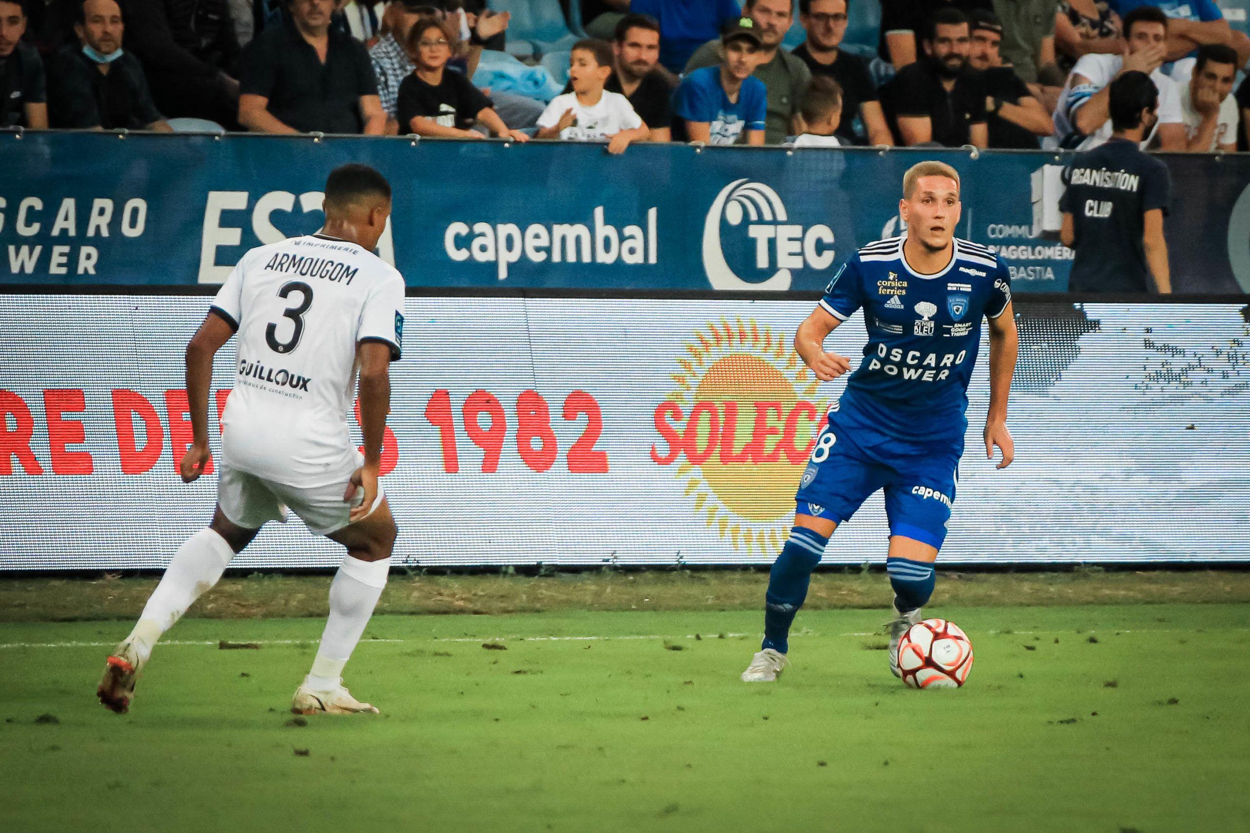 Caen ramène un point miraculeux de son déplacement à Bastia (1-1)