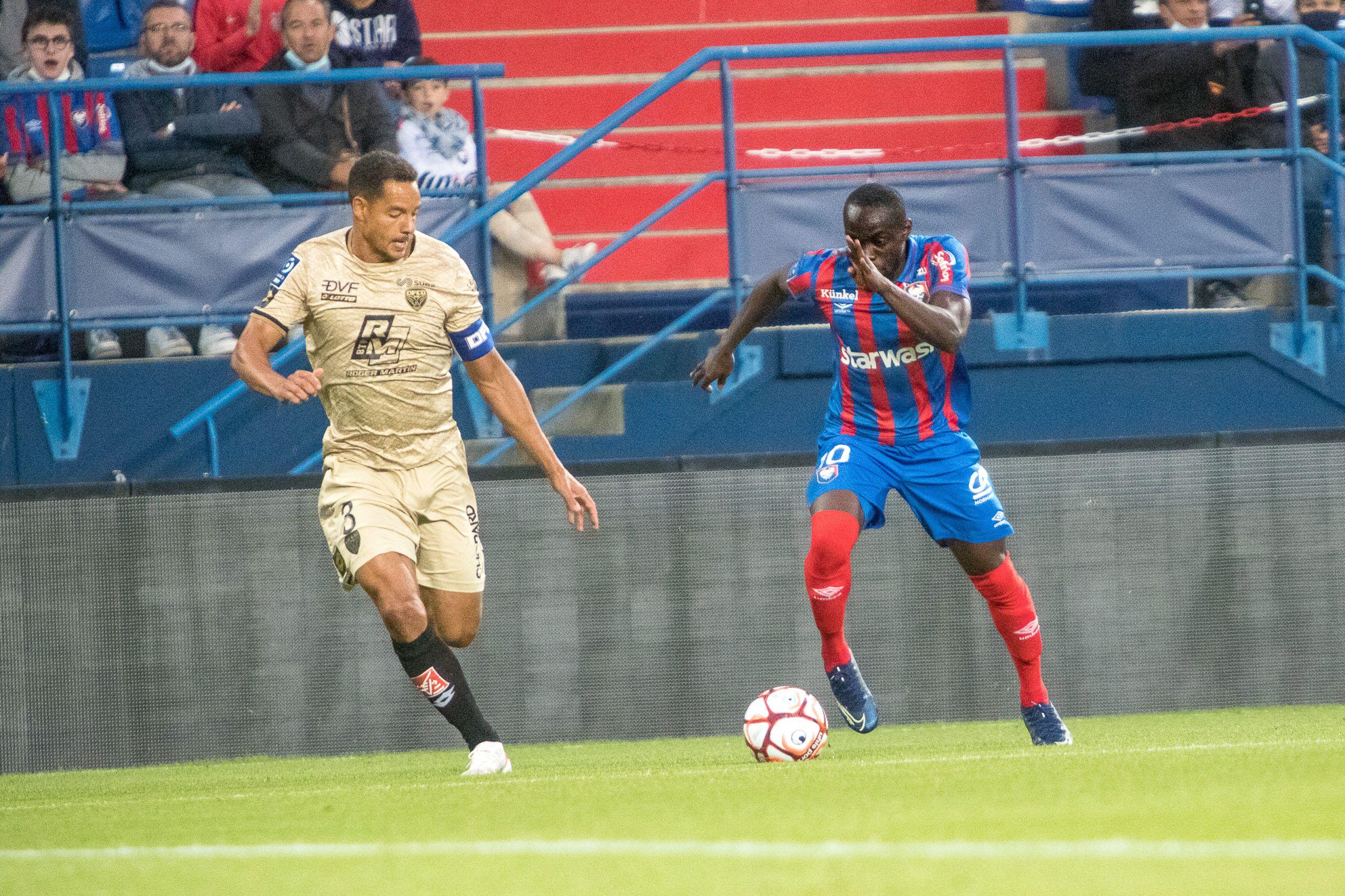 Les notes des joueurs caennais après la défaite contre Dijon (0-1)