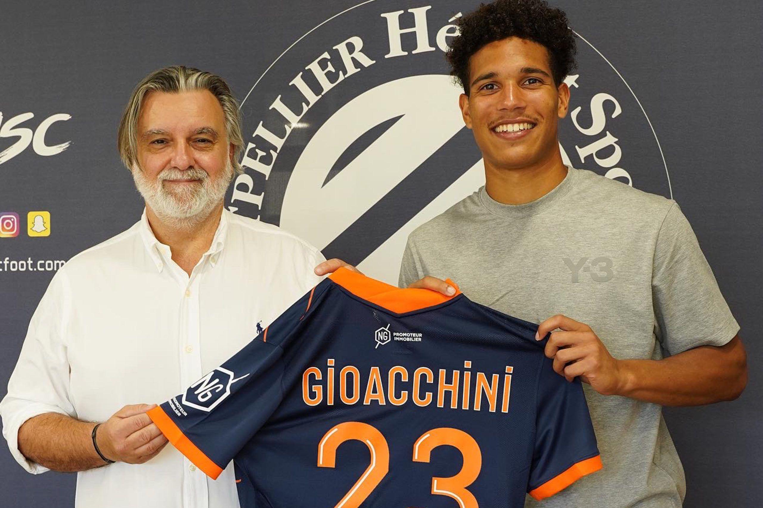 [Vidéo] Les premiers pas de Nicholas Gioacchini avec Montpellier