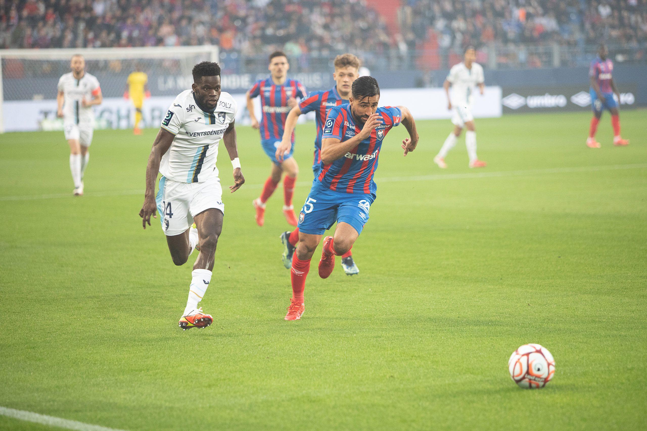 Plombé par sa défense, Malherbe concède le nul face au Havre (2-2)