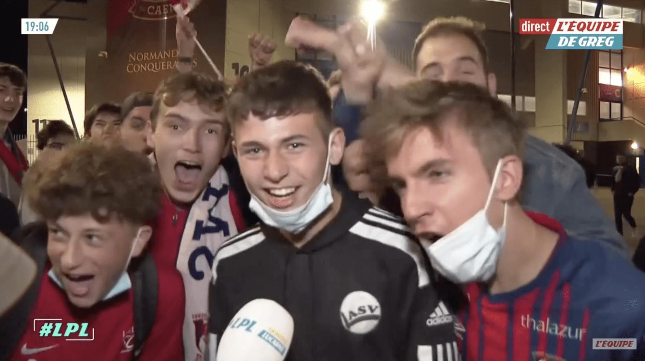 [Vidéo] Quand L'Equipe interview les supporters caennais à la sortie du stade