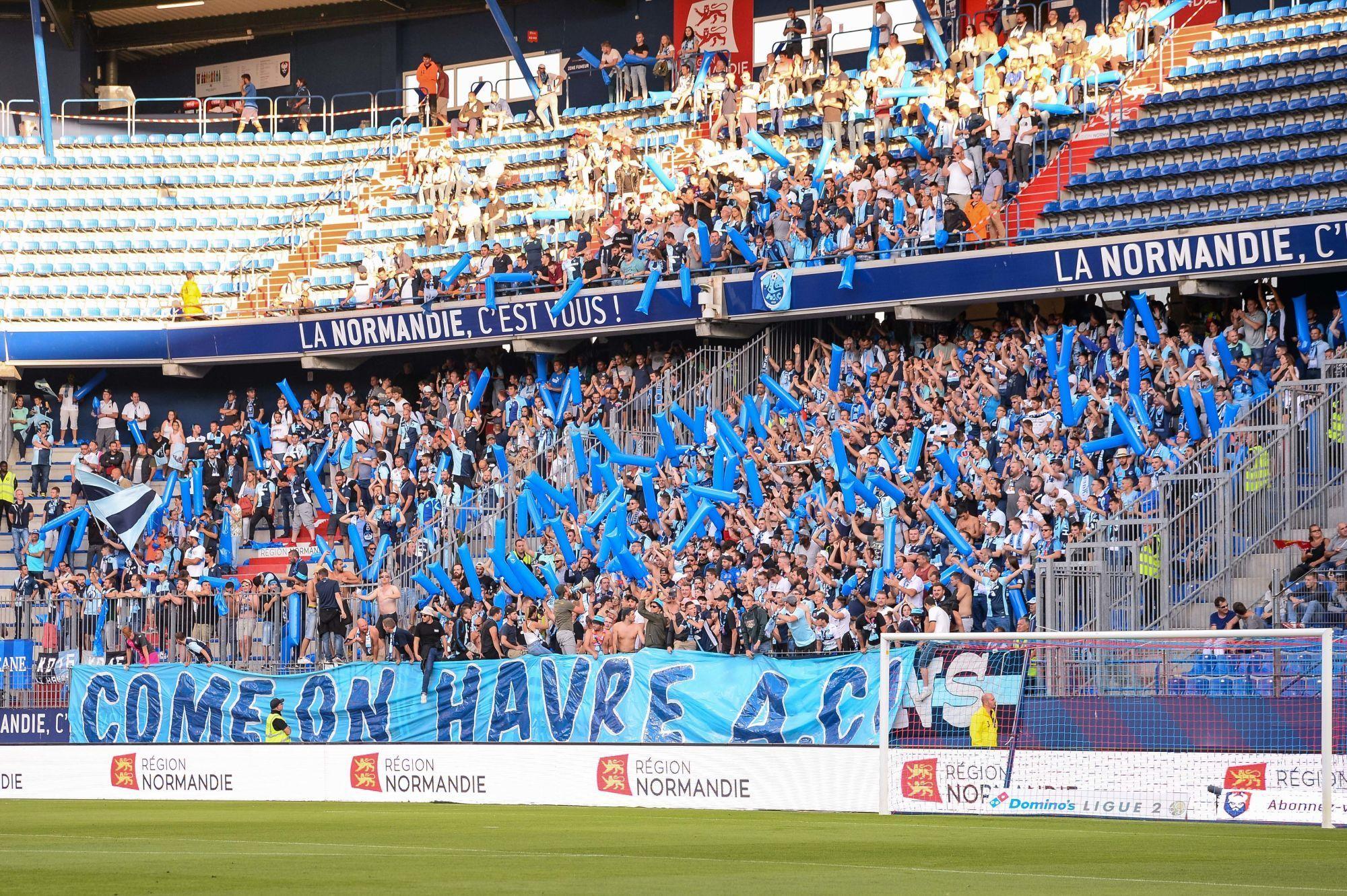 1 000 supporters havrais attendus au stade Michel d'Ornano pour le derby