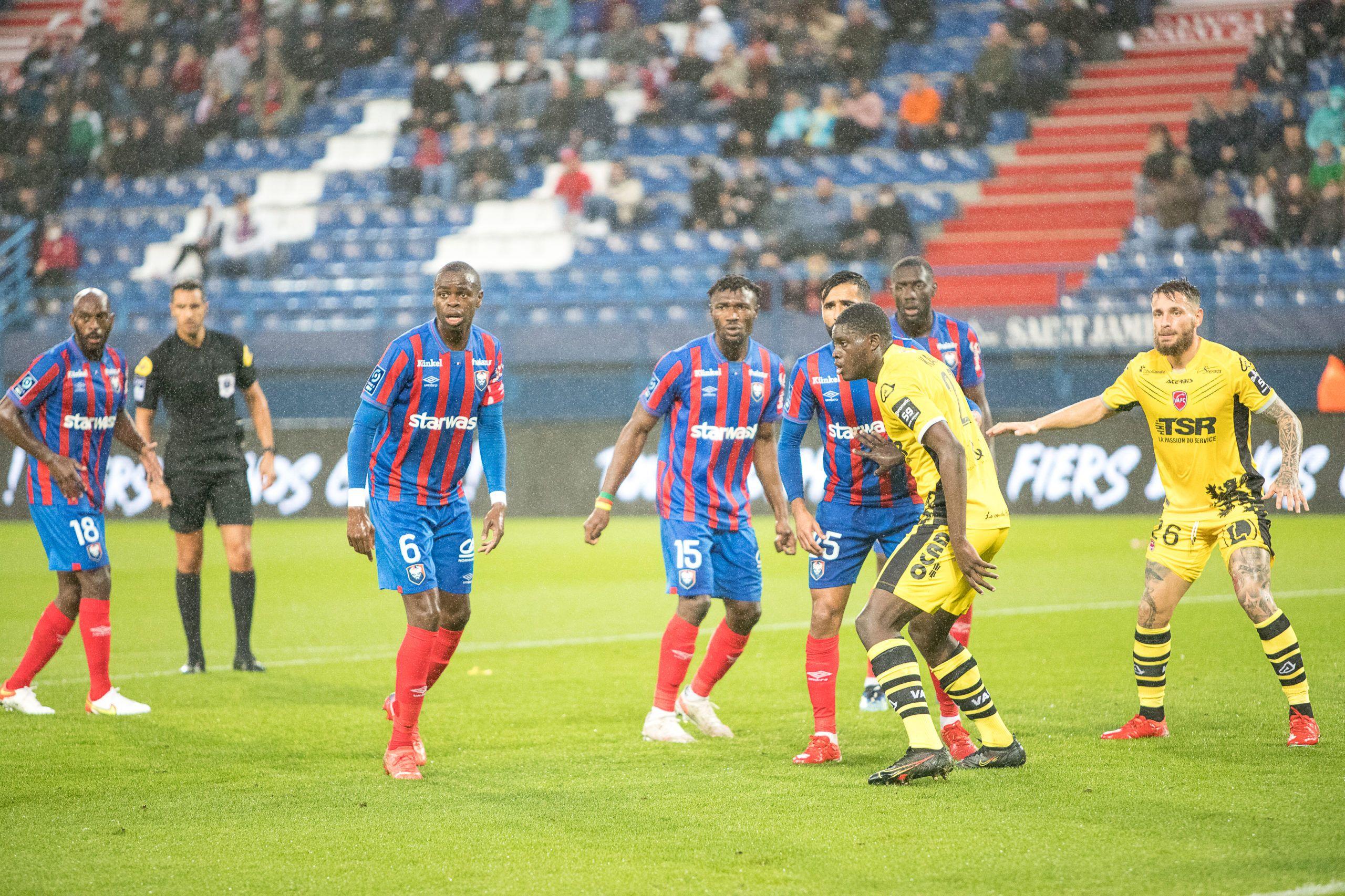 Caen retombe dans ses travers et s'incline contre Valenciennes (1-2)