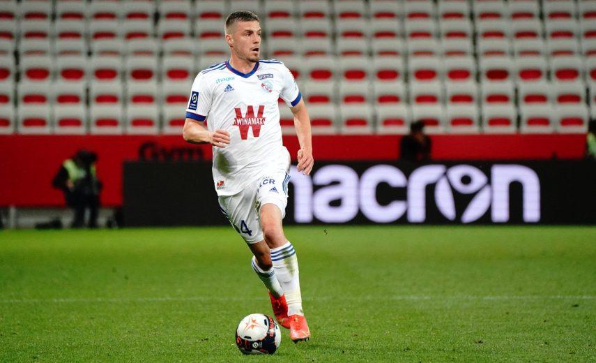 Frederic Guilbert (Strasbourg) FOOTBALL : OGC Nice vs RC Strasbourg - Ligue 1 Uber Eats - Nice - 16/05/2021 NorbertScane