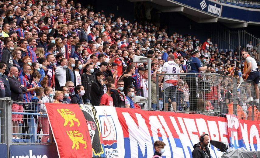 ILLUSTRATION - SUPPORTERS FOOTBALL : Caen vs Sochaux - Ligue 2 BKT - 07/08/2021 AnthonyBIBARD/FEP/Panoramic PUBLICATIONx