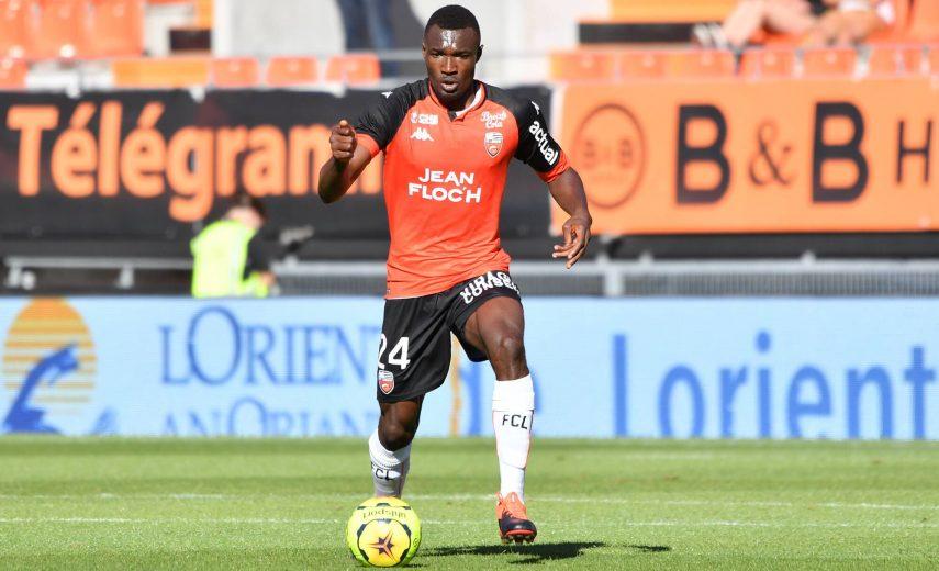 Wadja Franklin (FC Lorient) FOOTBALL : Amical - FC Lorient-Rennes - Ligue 1 - 04/08/2020 BrunoPerrel/Panoramic PUBLICATI