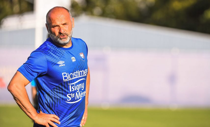 Pascal DUPRAZ head coach of SM Caen during the friendly match between SM Caen and Paris FC on July 11, 2020 in Caen, France. (Photo by Baptiste Fernandez/Icon Sport) - Caen (France)