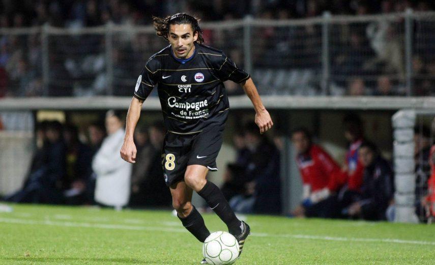 Juan Eduardo ELUCHANS - 27.11.2009 - Nimes / Caen - 15e journee Ligue 2